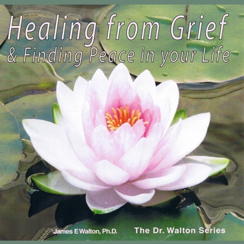Printable Healing from Grief & Finding Peace in Your Life Audiobook Cover Art
