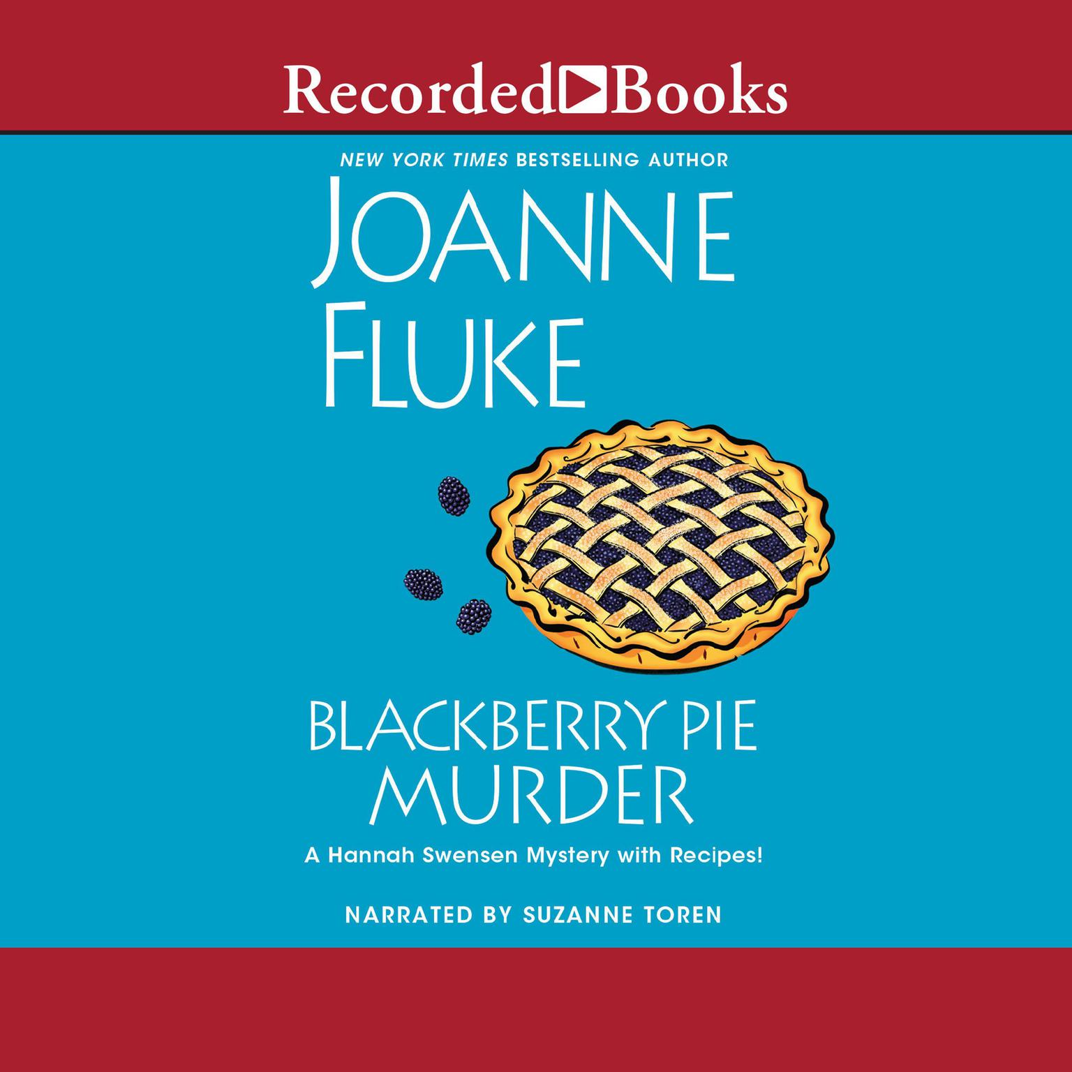 Printable Blackberry Pie Murder Audiobook Cover Art