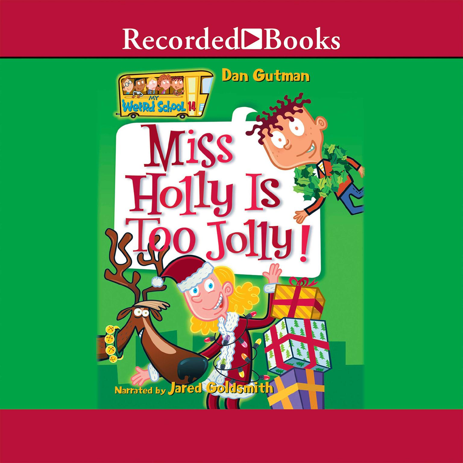 Printable Miss Holly is Too Jolly! Audiobook Cover Art