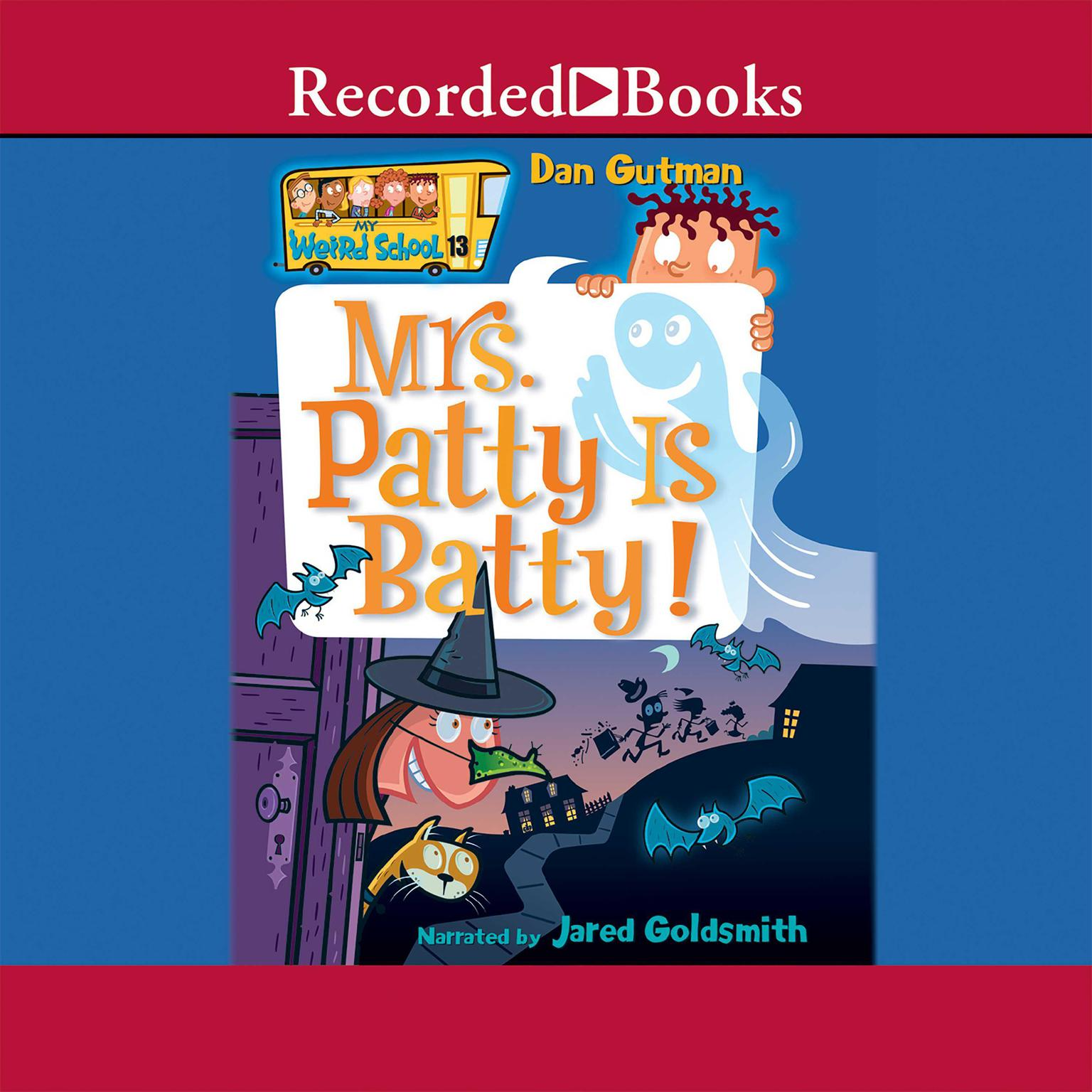 Printable Mrs. Patty is Batty Audiobook Cover Art