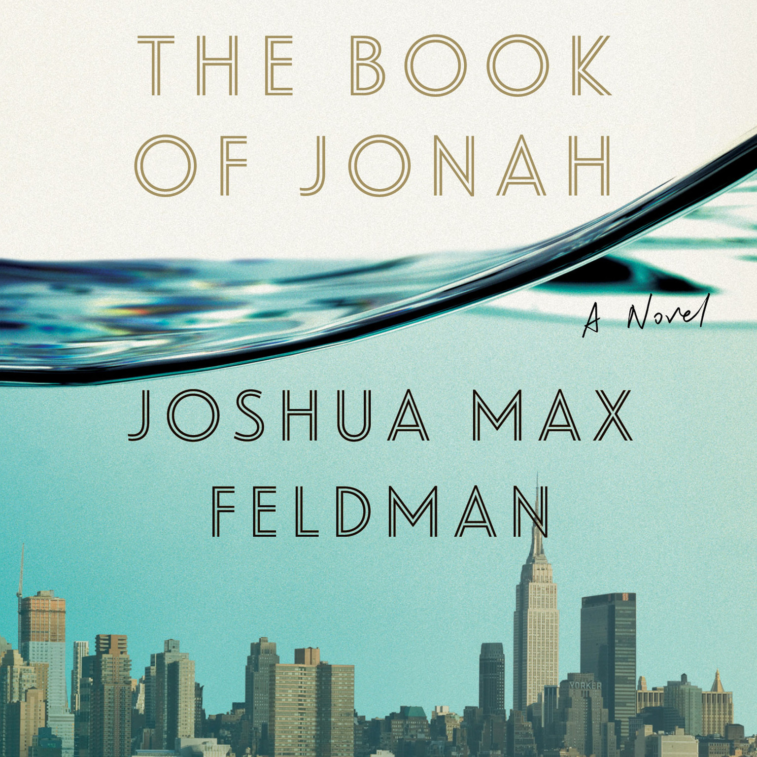 Printable The Book of Jonah: A Novel Audiobook Cover Art
