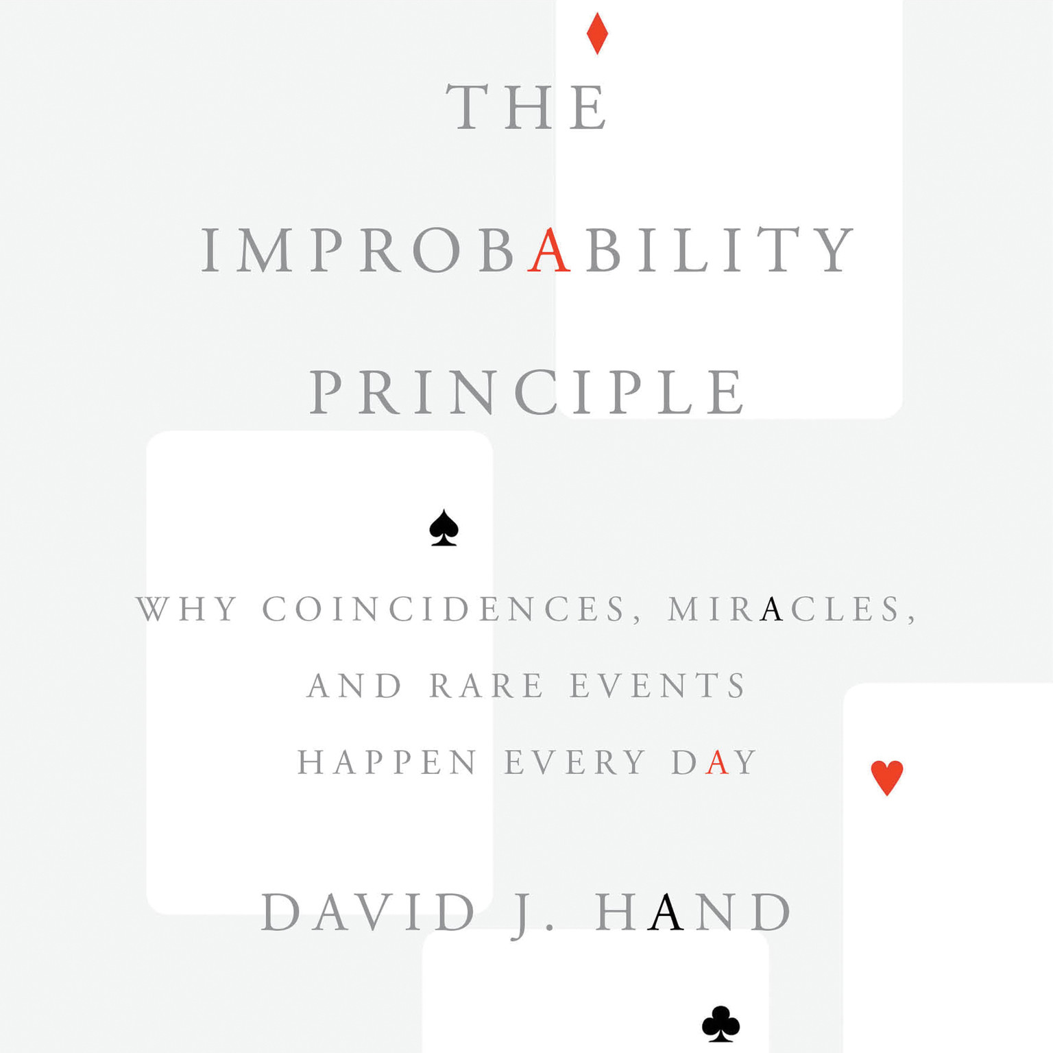 Printable The Improbability Principle: Why Coincidences, Miracles, and Rare Events Happen Every Day Audiobook Cover Art