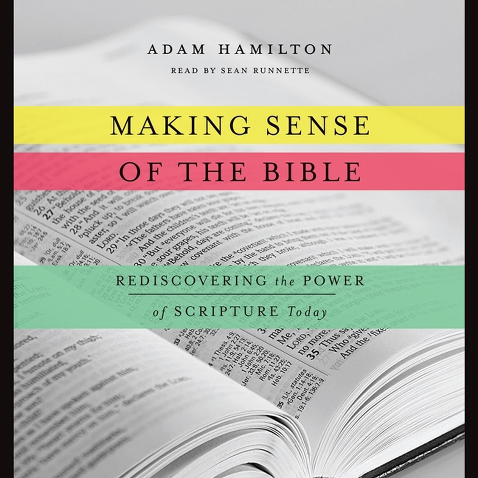 Printable Making Sense of the Bible: Rediscovering the Power of Scripture Today Audiobook Cover Art