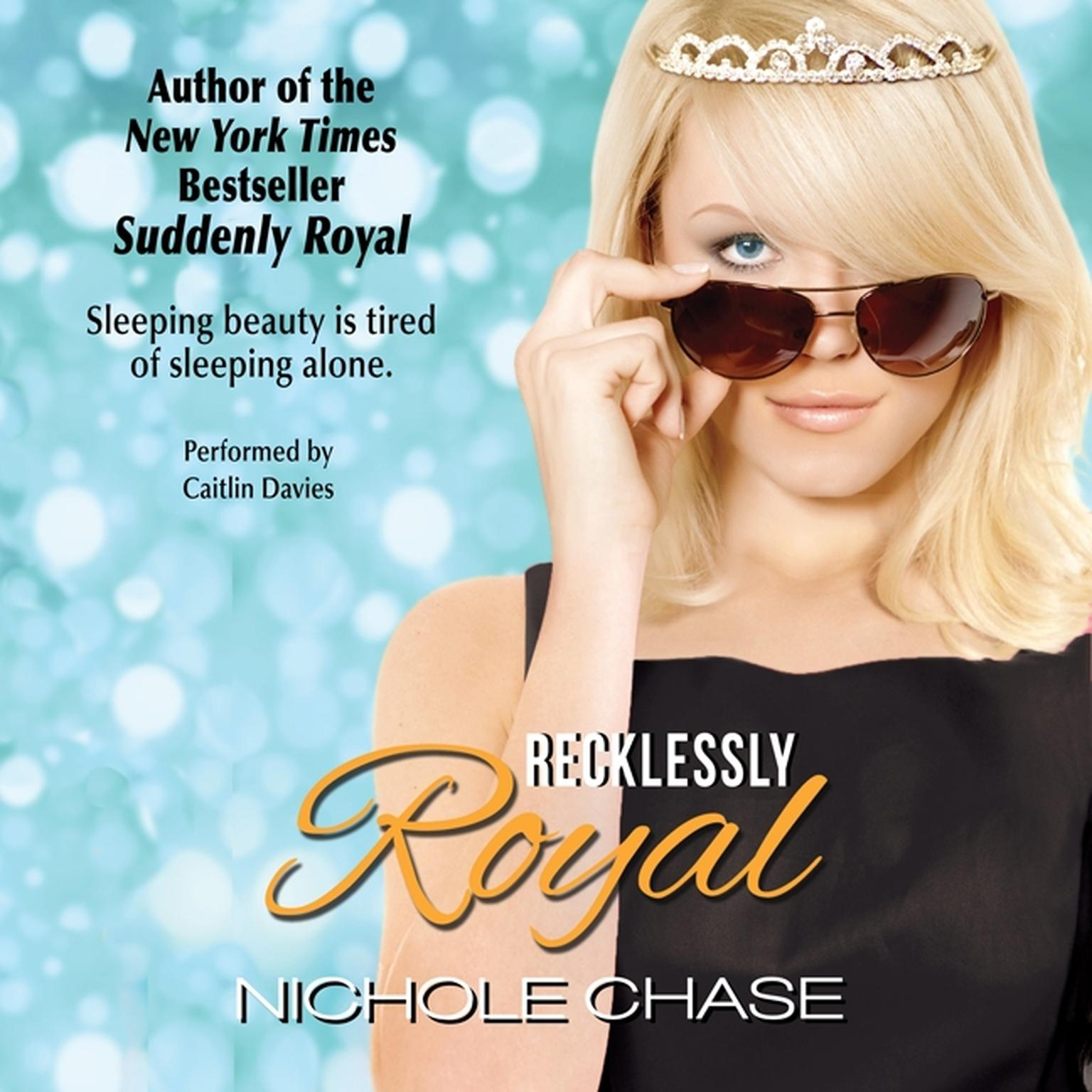 Printable Recklessly Royal Audiobook Cover Art