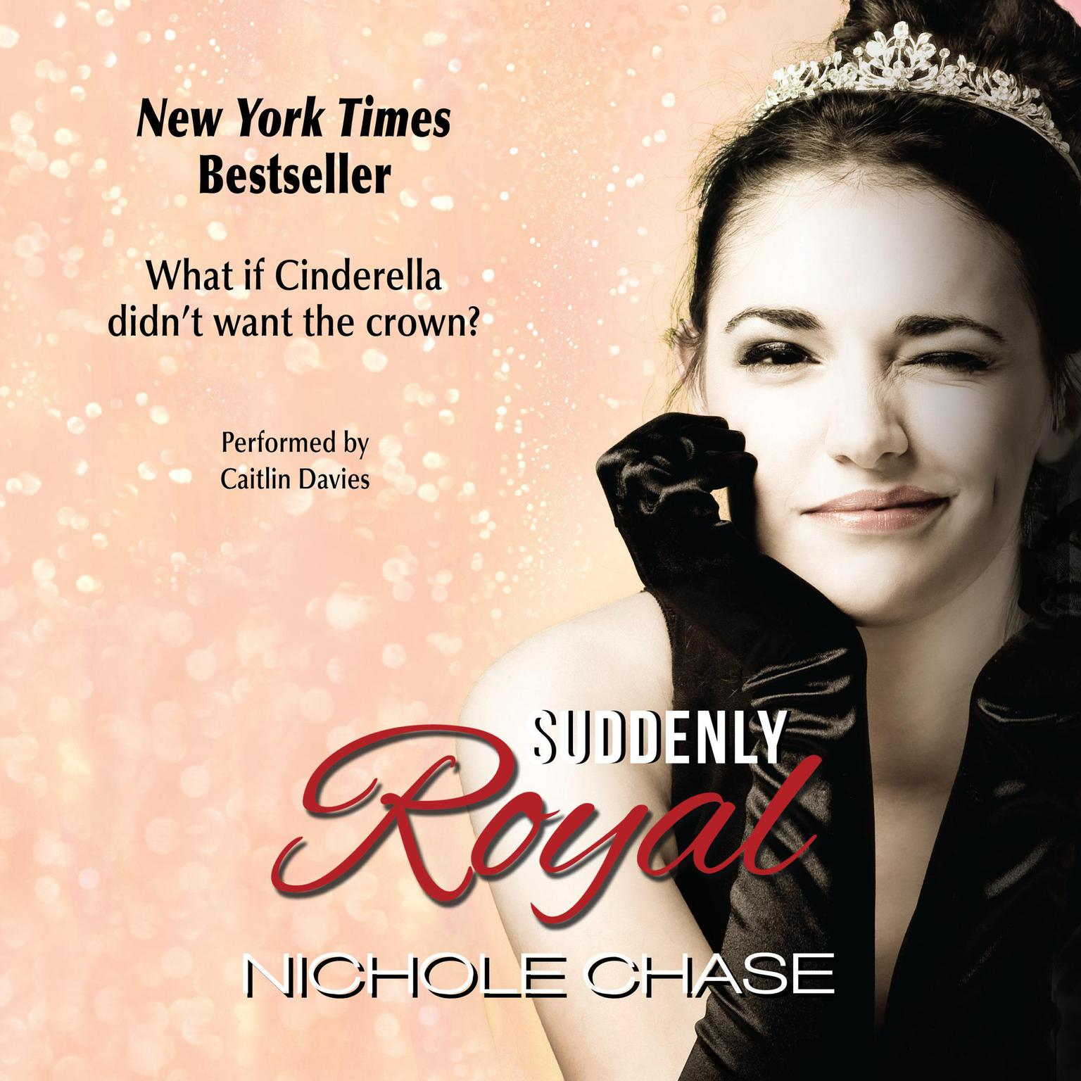 Printable Suddenly Royal Audiobook Cover Art