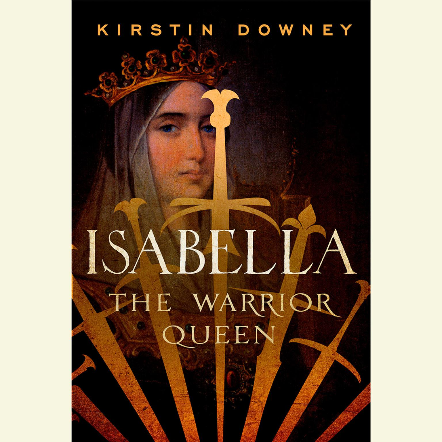 Printable Isabella: The Warrior Queen Audiobook Cover Art