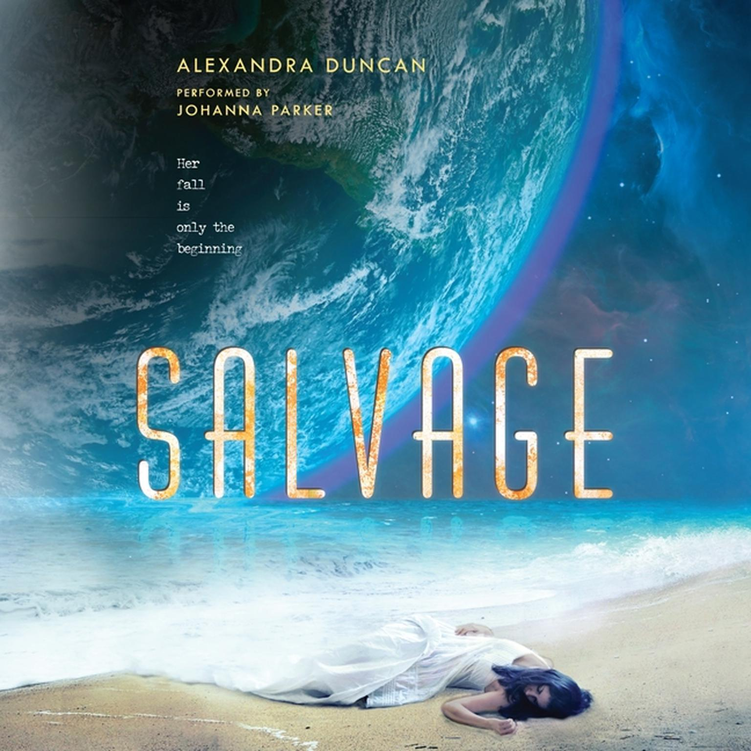 Printable Salvage Audiobook Cover Art