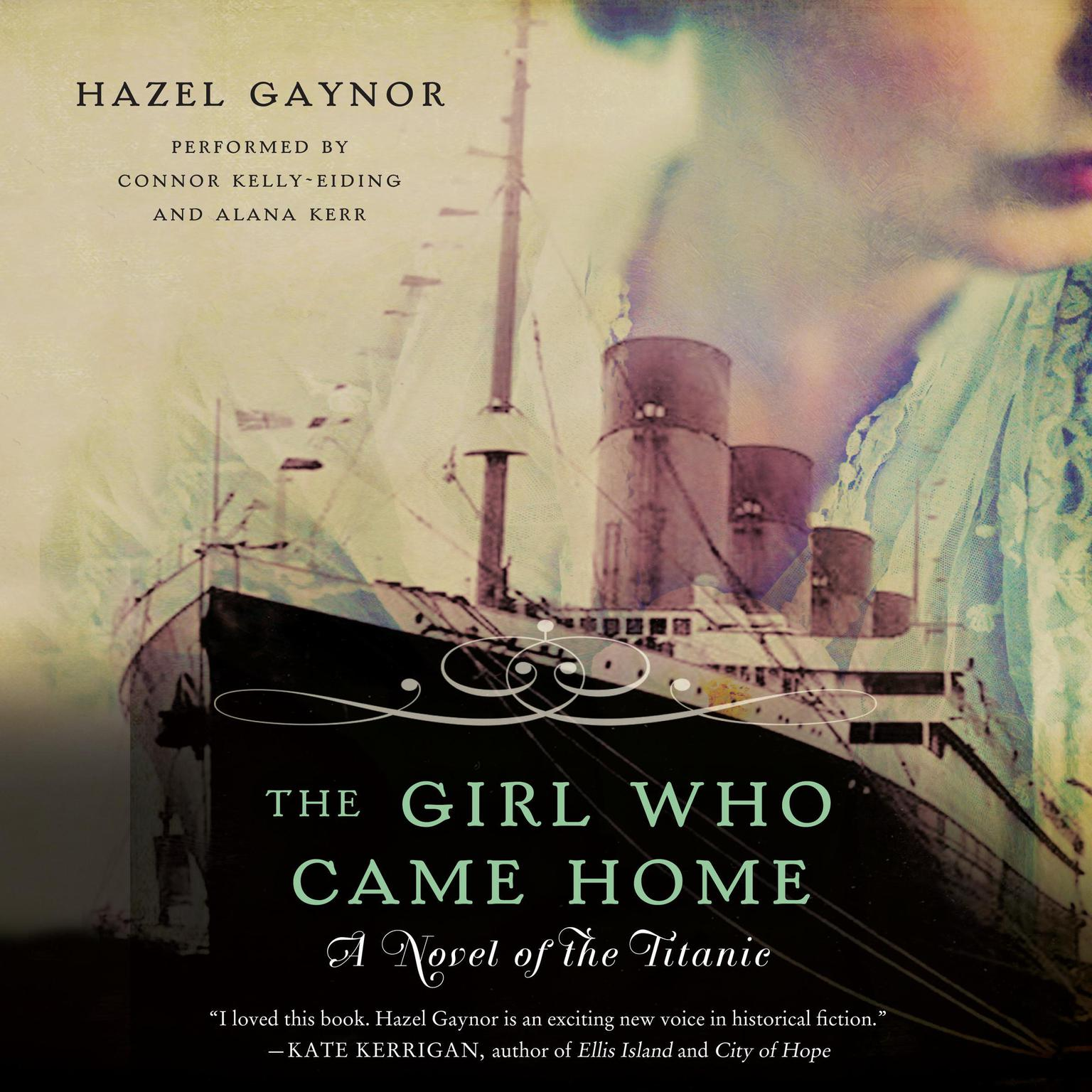 Printable The Girl Who Came Home: A Novel of the Titanic Audiobook Cover Art