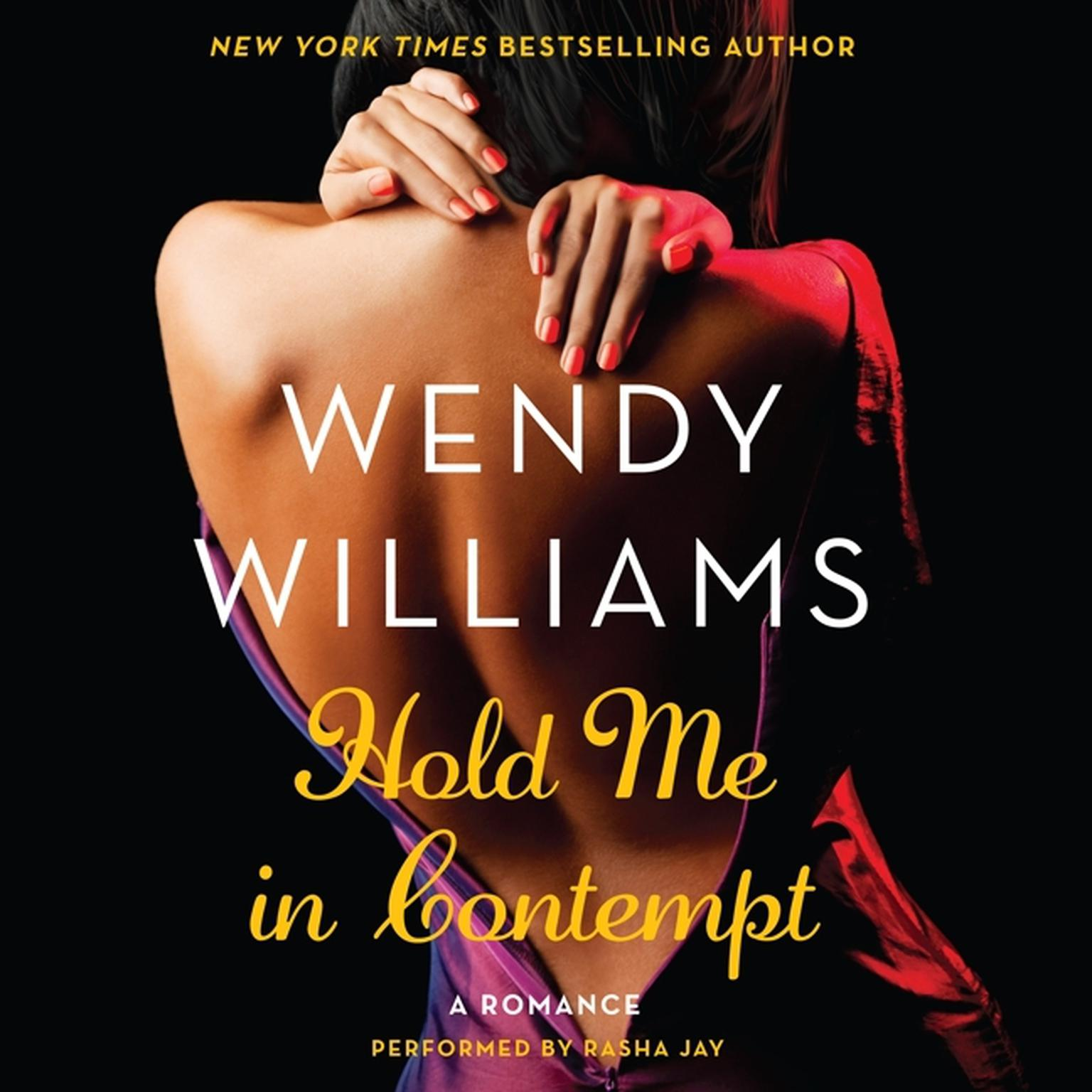 Printable Hold Me in Contempt: A Romance Audiobook Cover Art