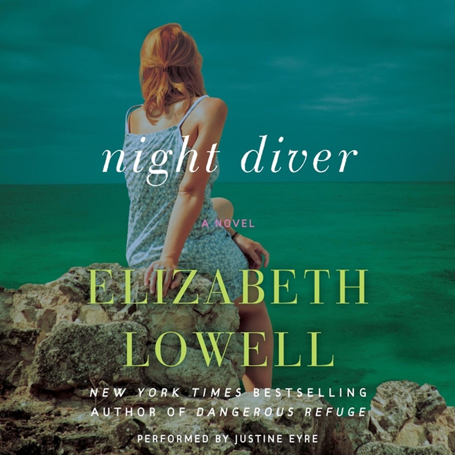 Printable Night Diver: A Novel Audiobook Cover Art