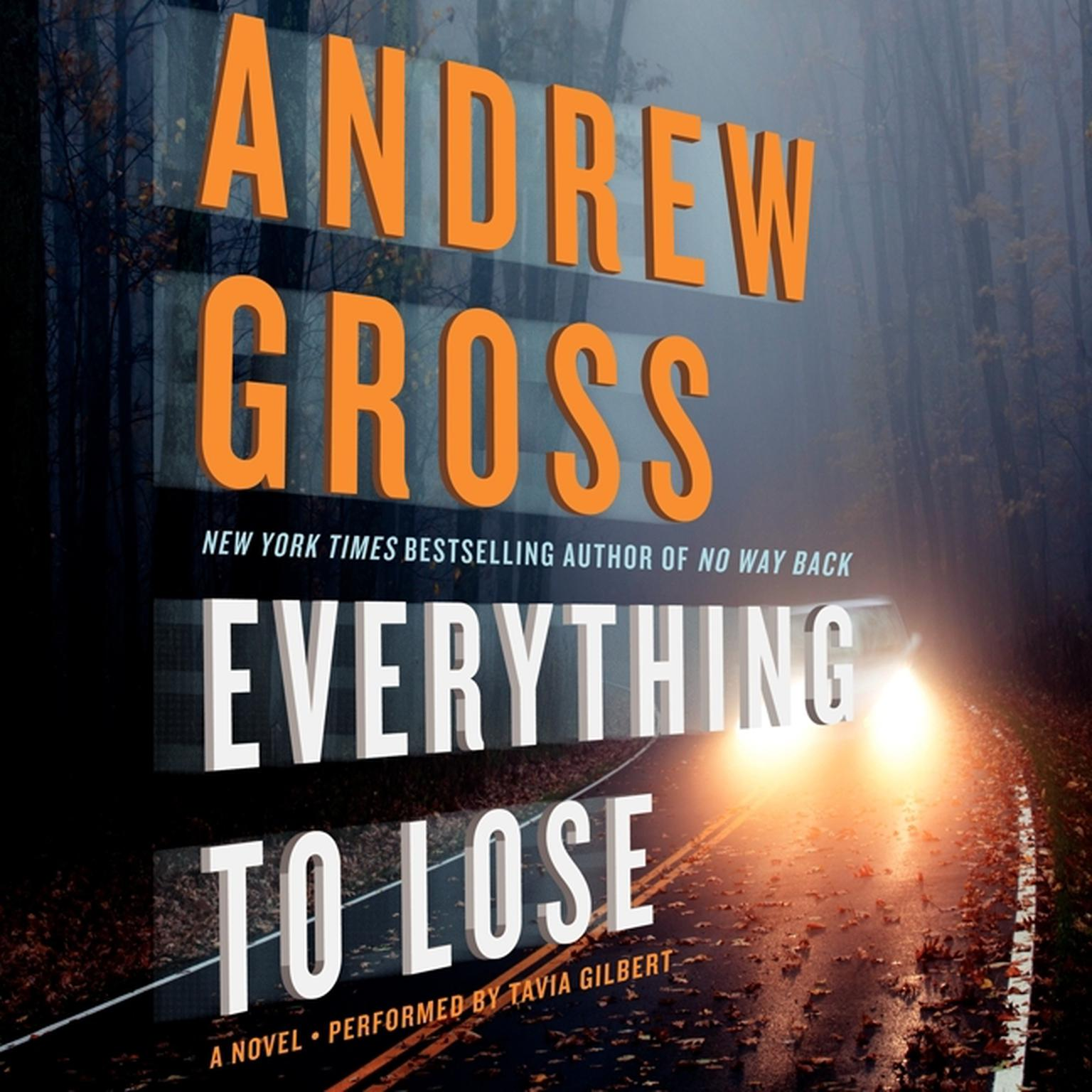 Printable Everything to Lose: A Novel Audiobook Cover Art