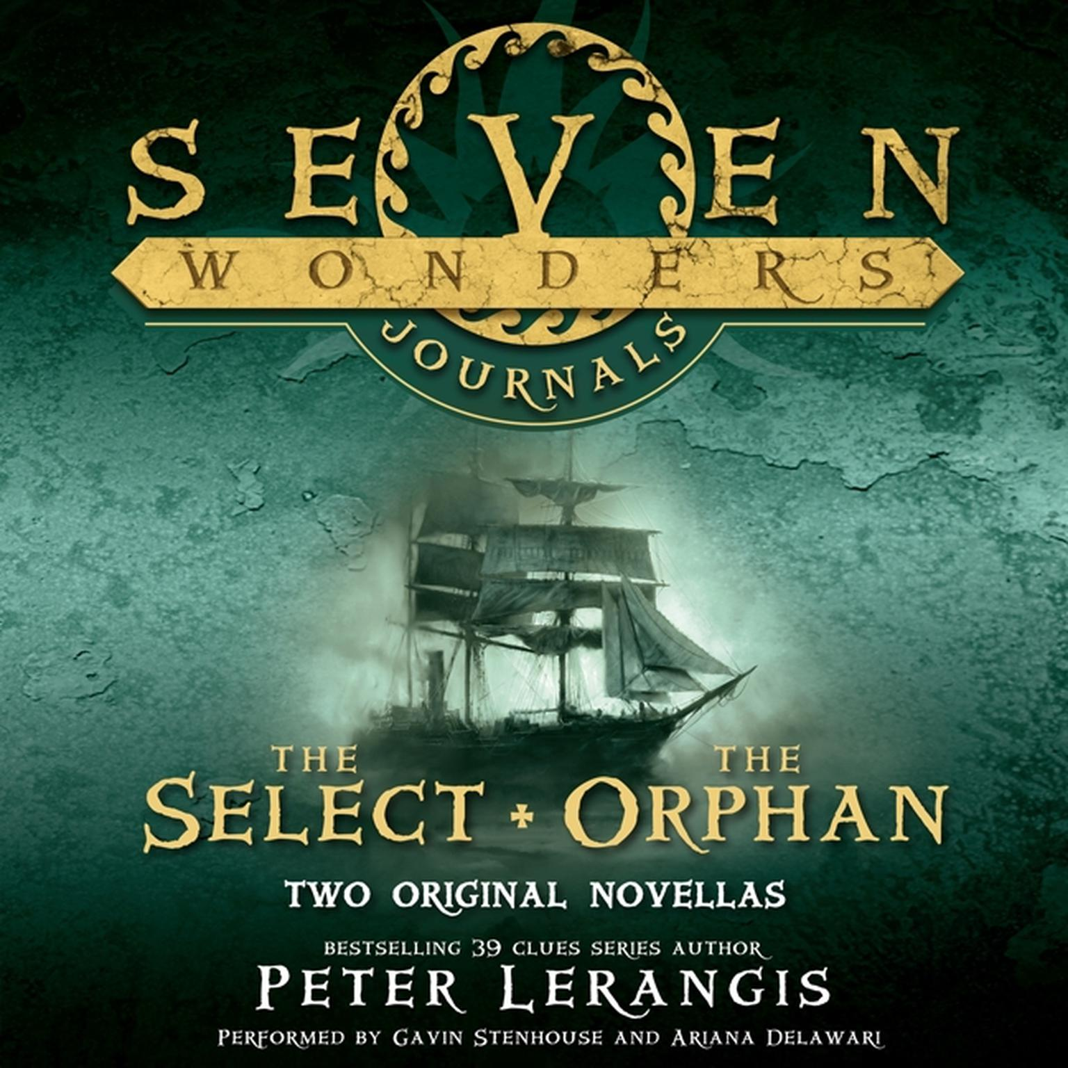 Printable Seven Wonders Journals: The Select and The Orphan Audiobook Cover Art