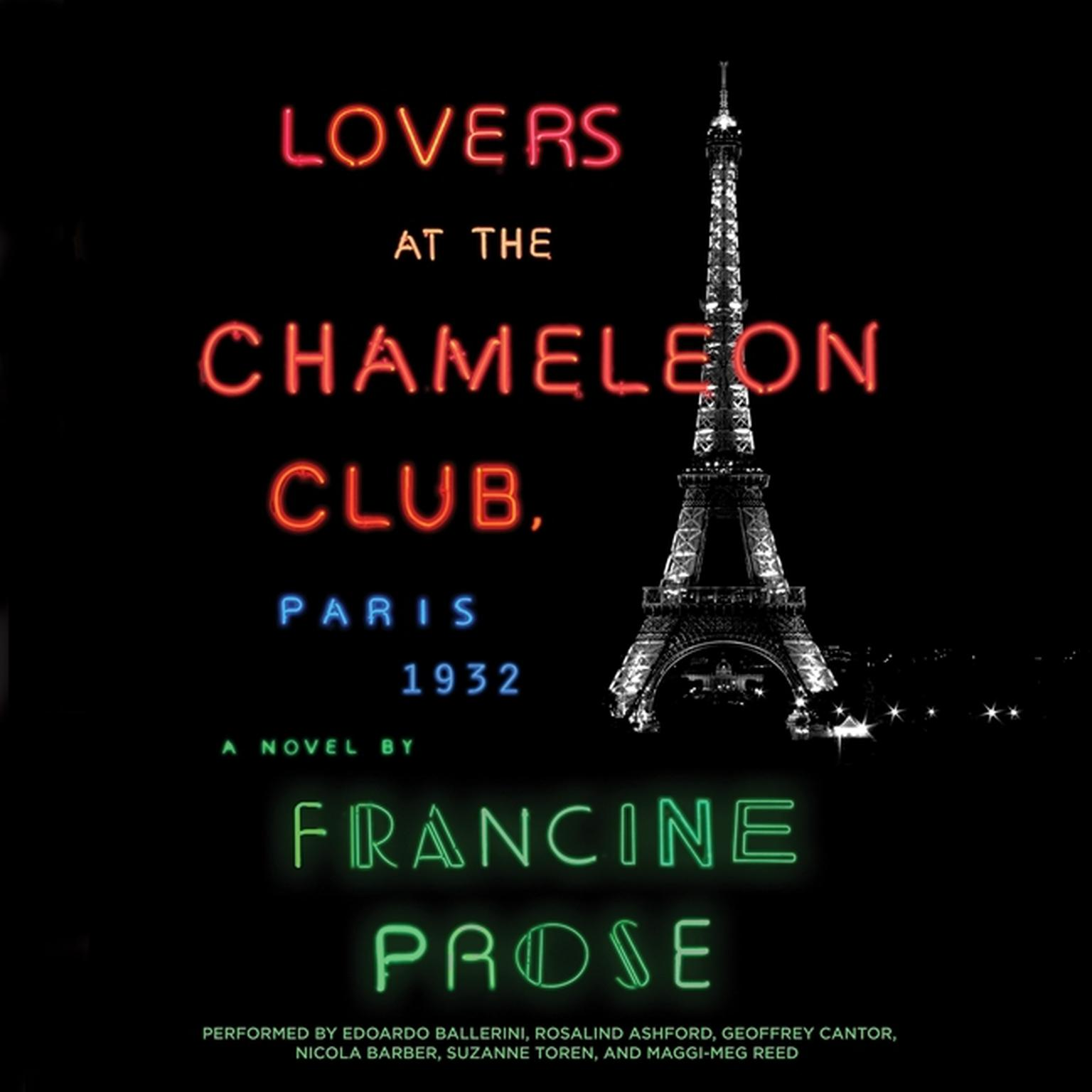 Printable Lovers at the Chameleon Club, Paris, 1932: A Novel Audiobook Cover Art