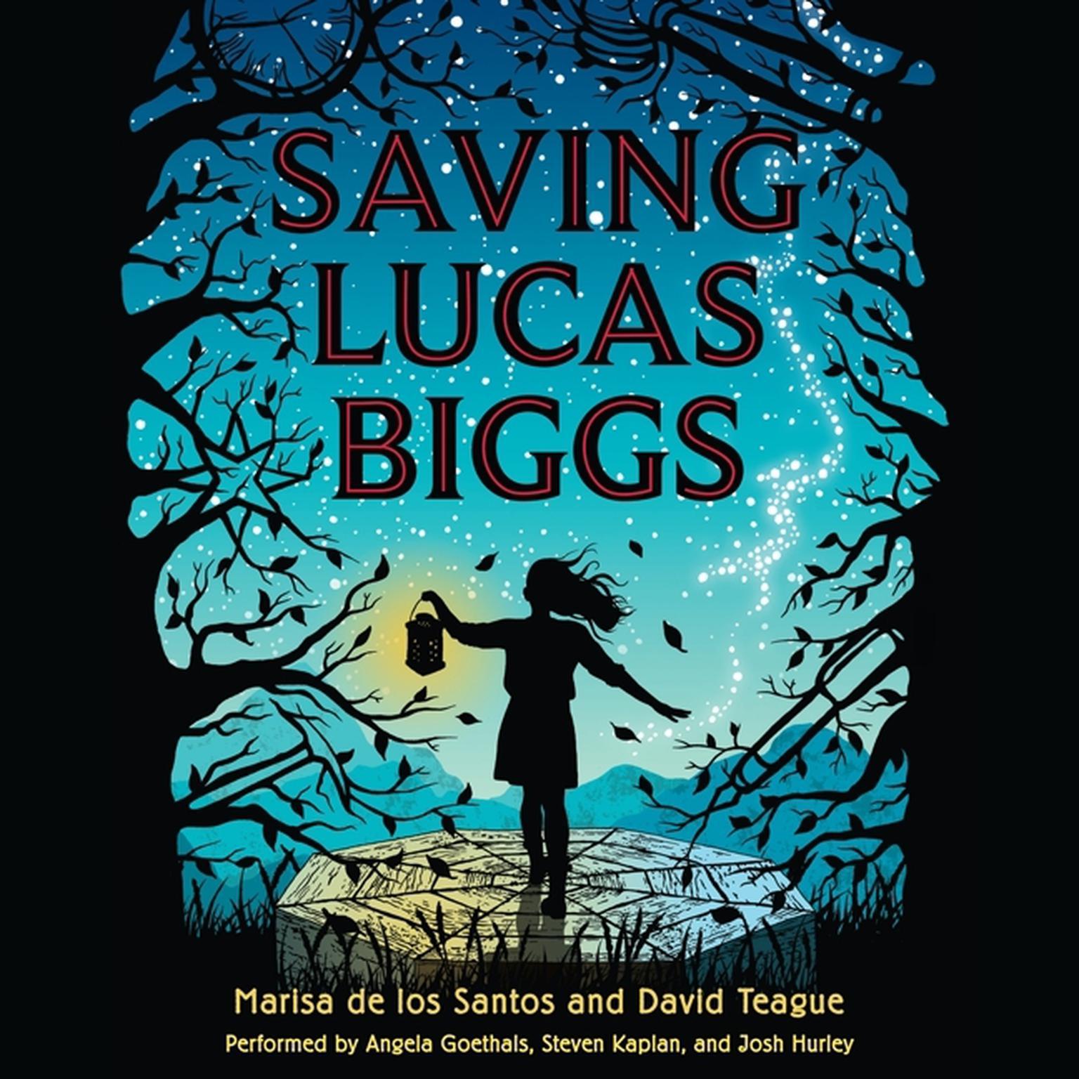 Printable Saving Lucas Biggs Audiobook Cover Art