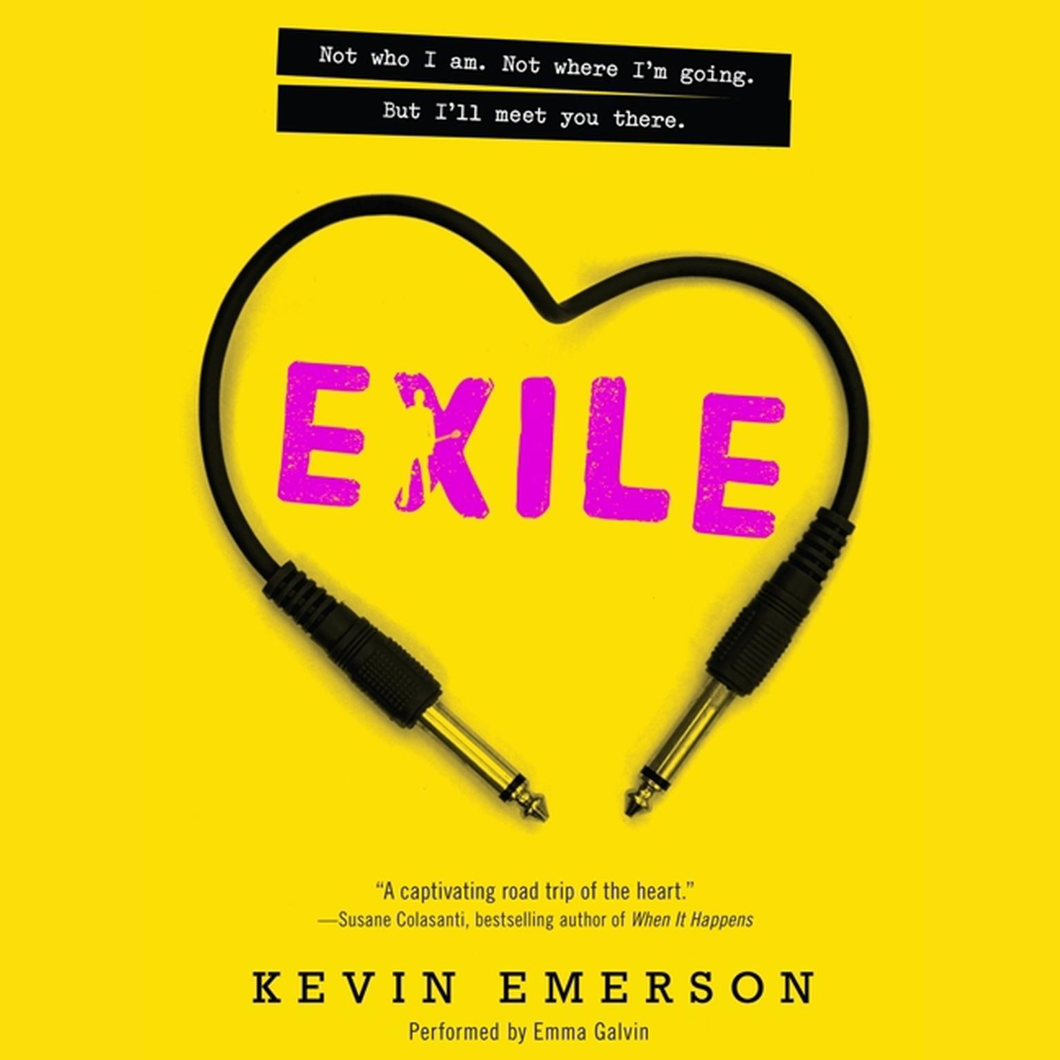 Printable Exile Audiobook Cover Art