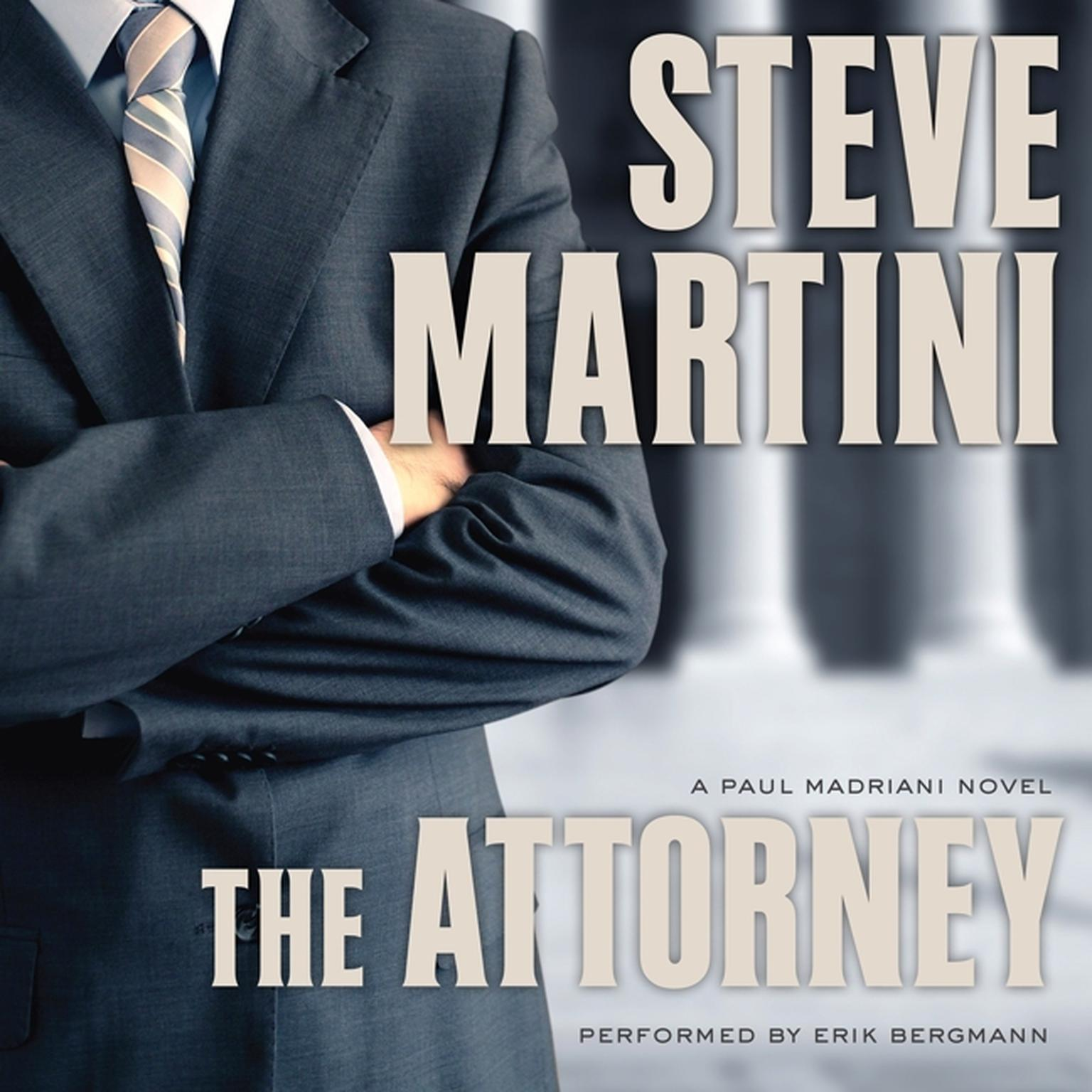 Printable The Attorney Audiobook Cover Art