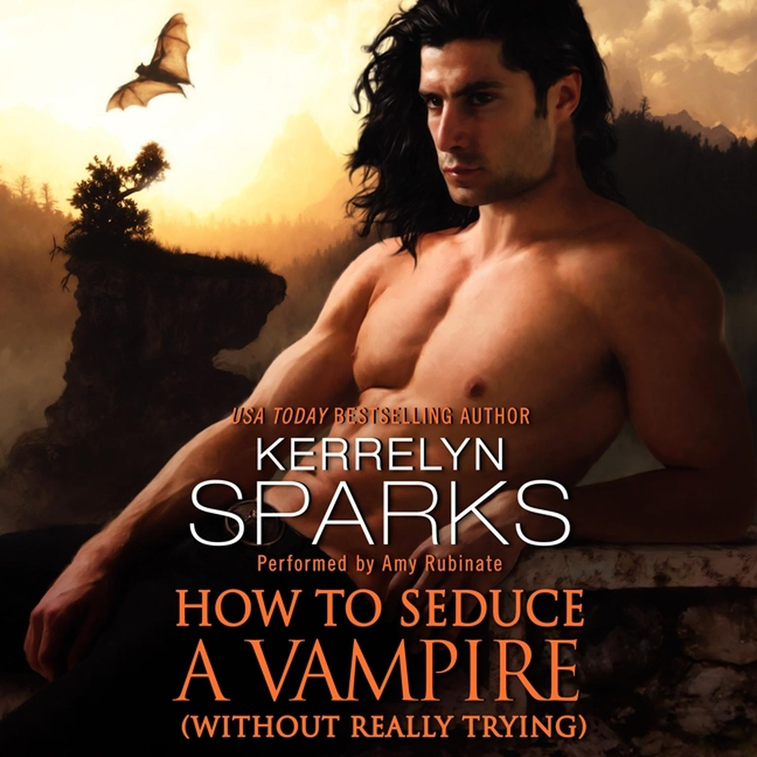 Printable How to Seduce a Vampire (without Really Trying) Audiobook Cover Art