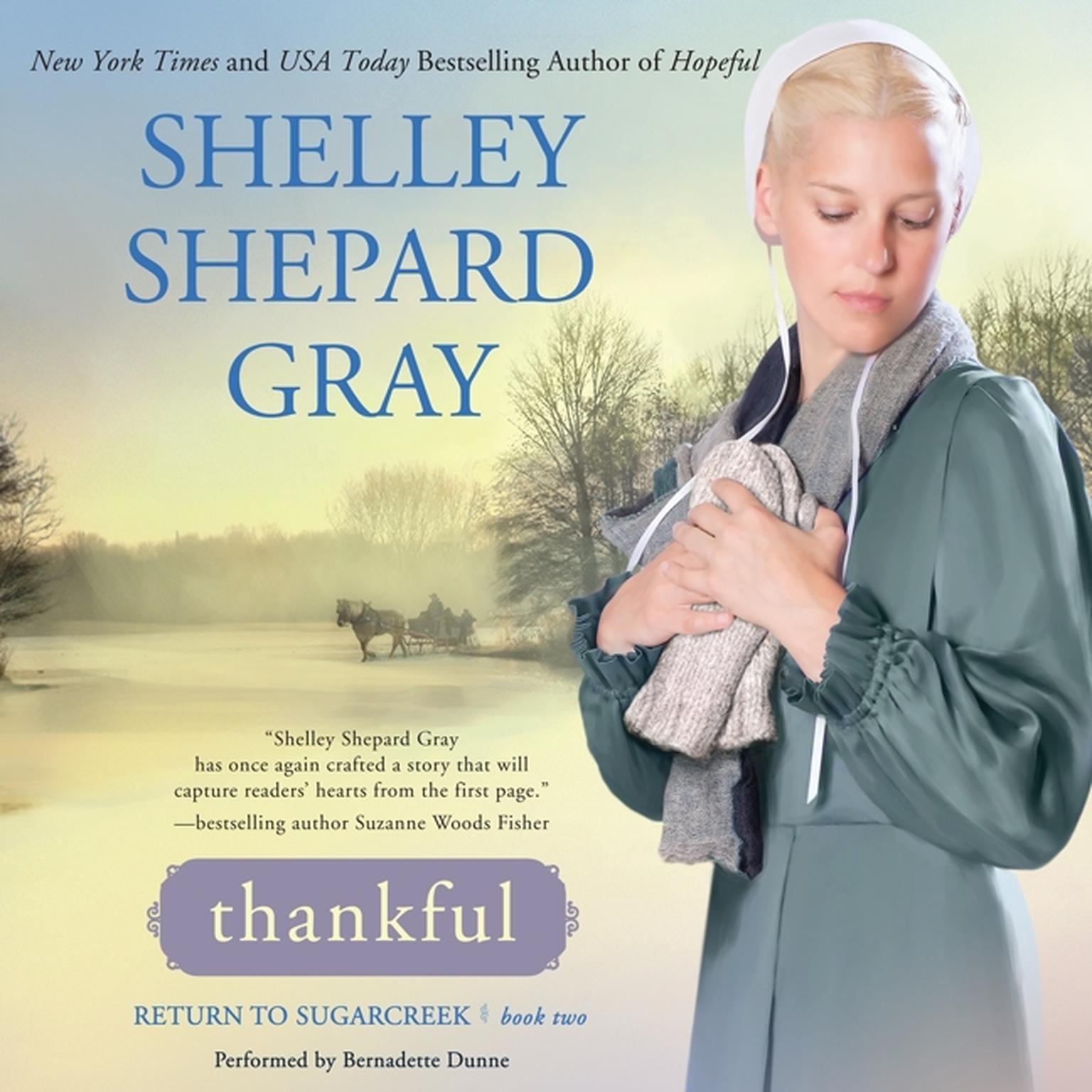 Printable Thankful: Return to Sugarcreek, Book Two Audiobook Cover Art