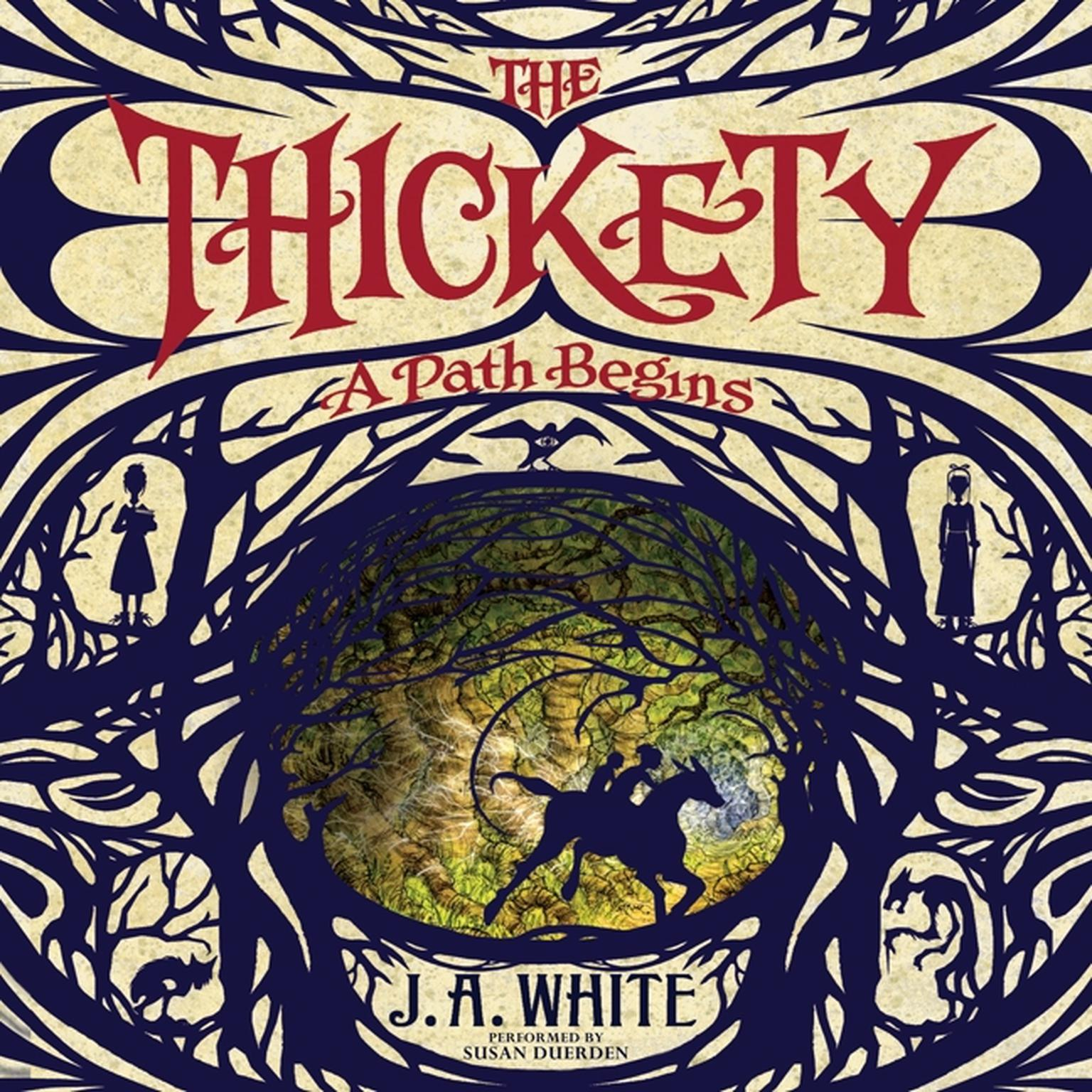 Printable The Thickety: A Path Begins Audiobook Cover Art