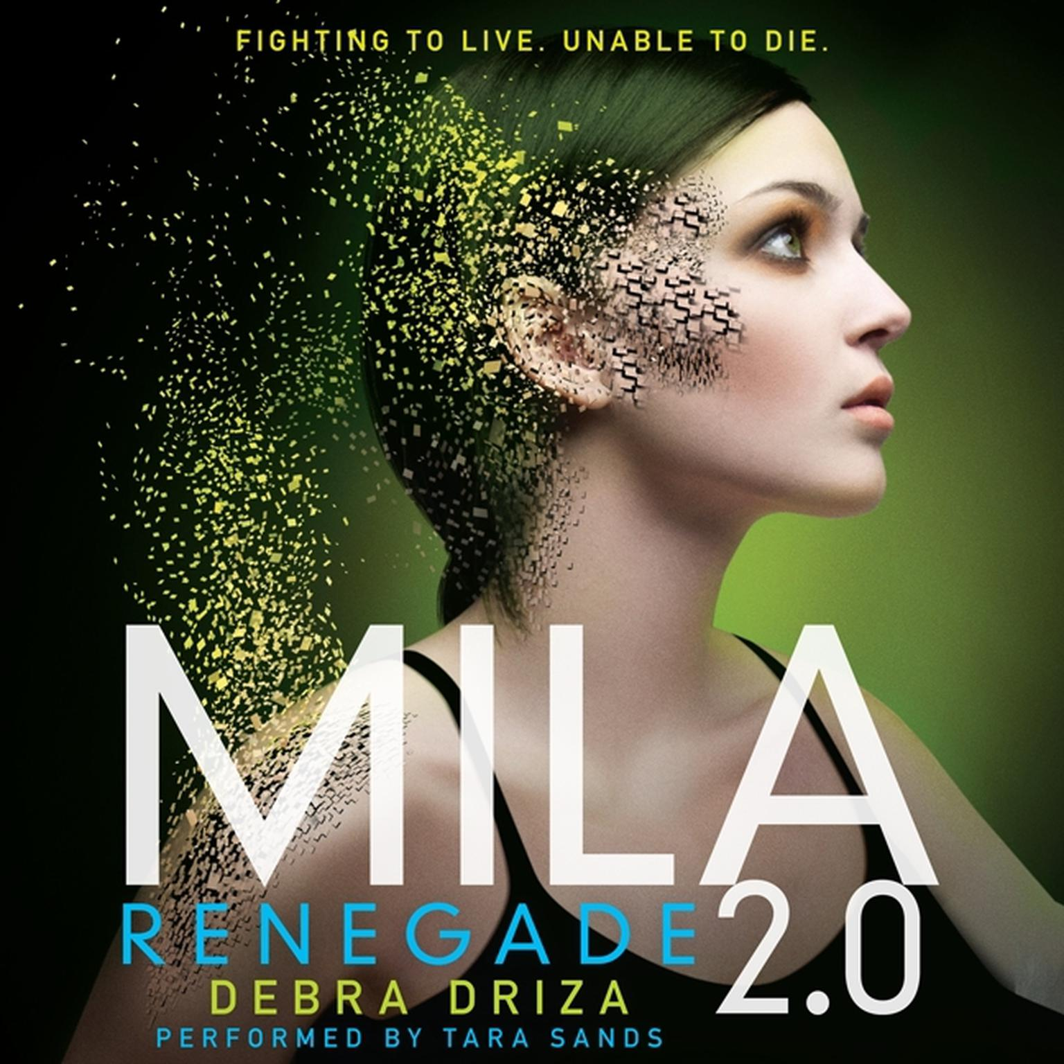 Printable Mila 2.0: Renegade Audiobook Cover Art