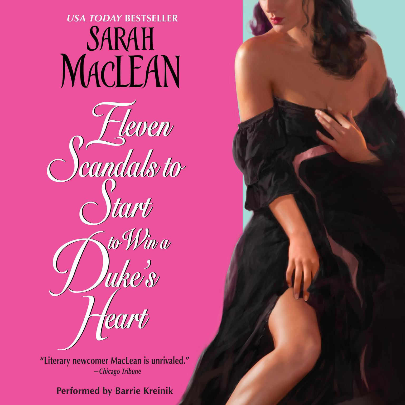 Printable Eleven Scandals to Start to Win a Duke's Heart Audiobook Cover Art