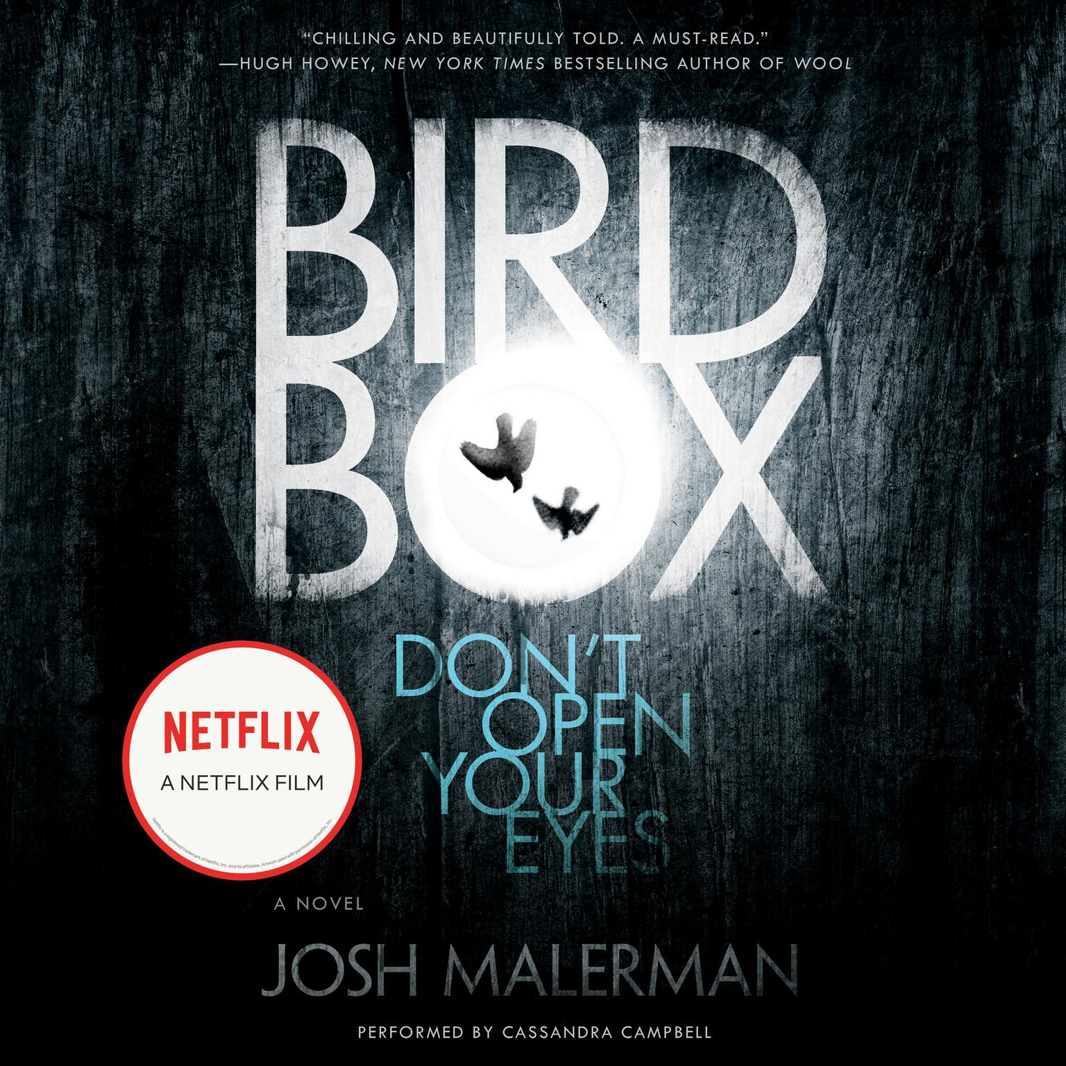 Printable Bird Box: A Novel Audiobook Cover Art