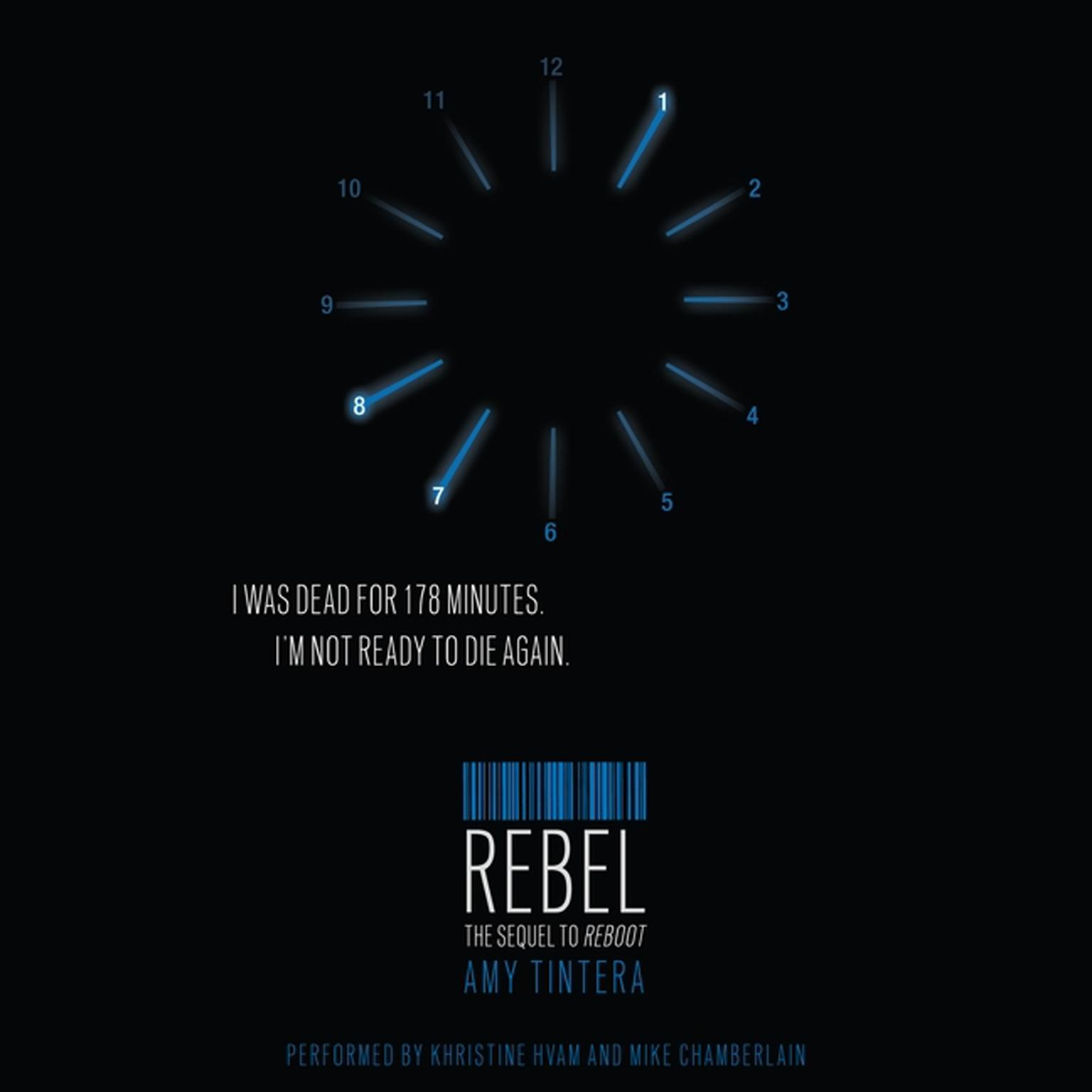 Printable Rebel Audiobook Cover Art
