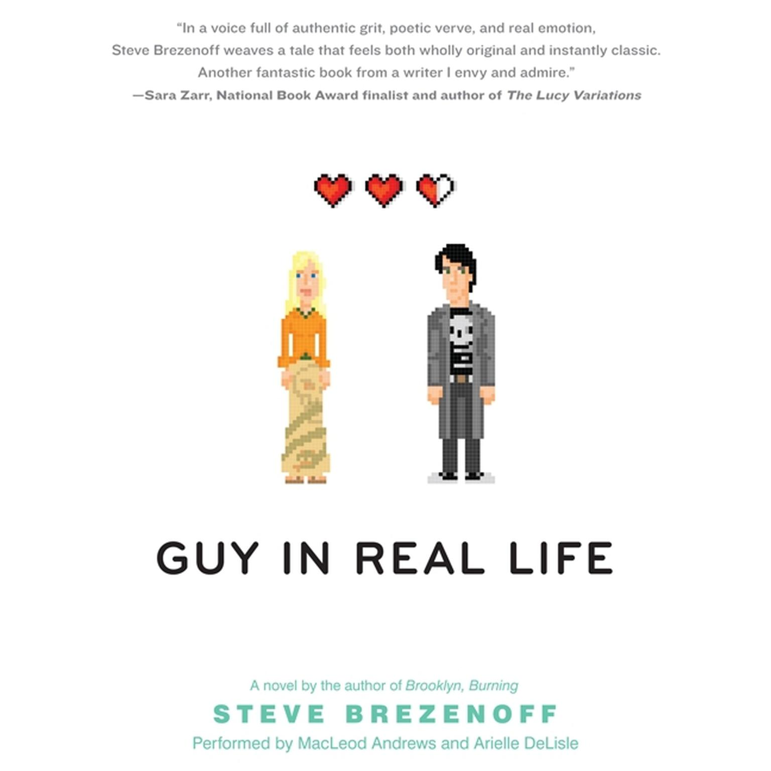 Printable Guy in Real Life Audiobook Cover Art