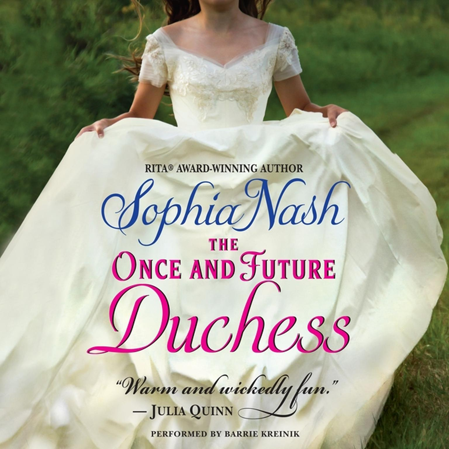 Printable The Once and Future Duchess Audiobook Cover Art