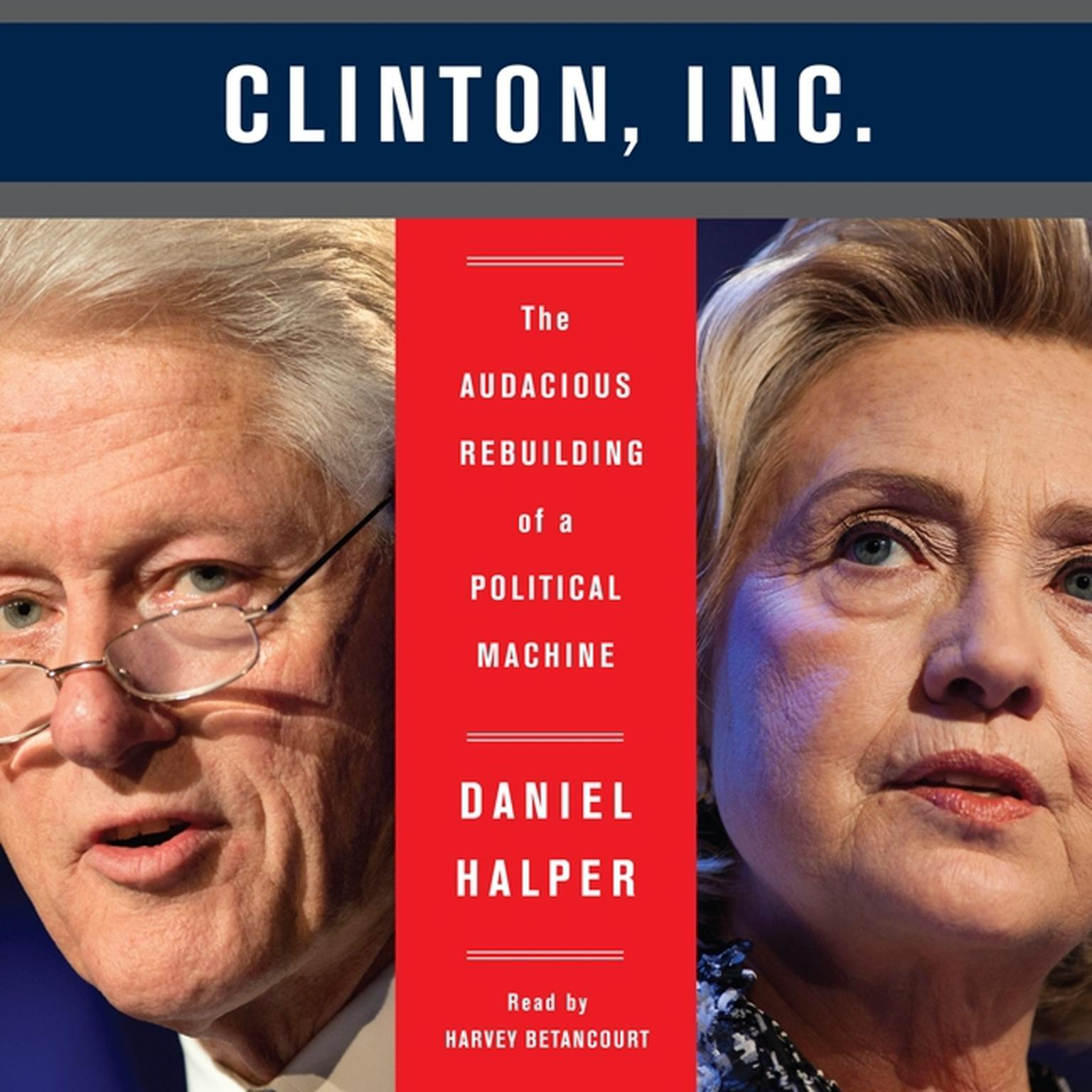 Printable Clinton, Inc.: The Audacious Rebuilding of a Political Machine Audiobook Cover Art