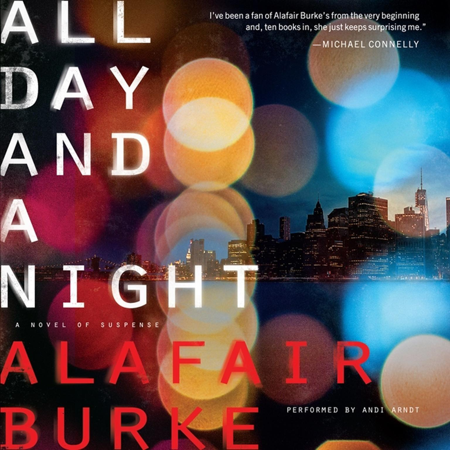 Printable All Day and a Night: A Novel of Suspense Audiobook Cover Art