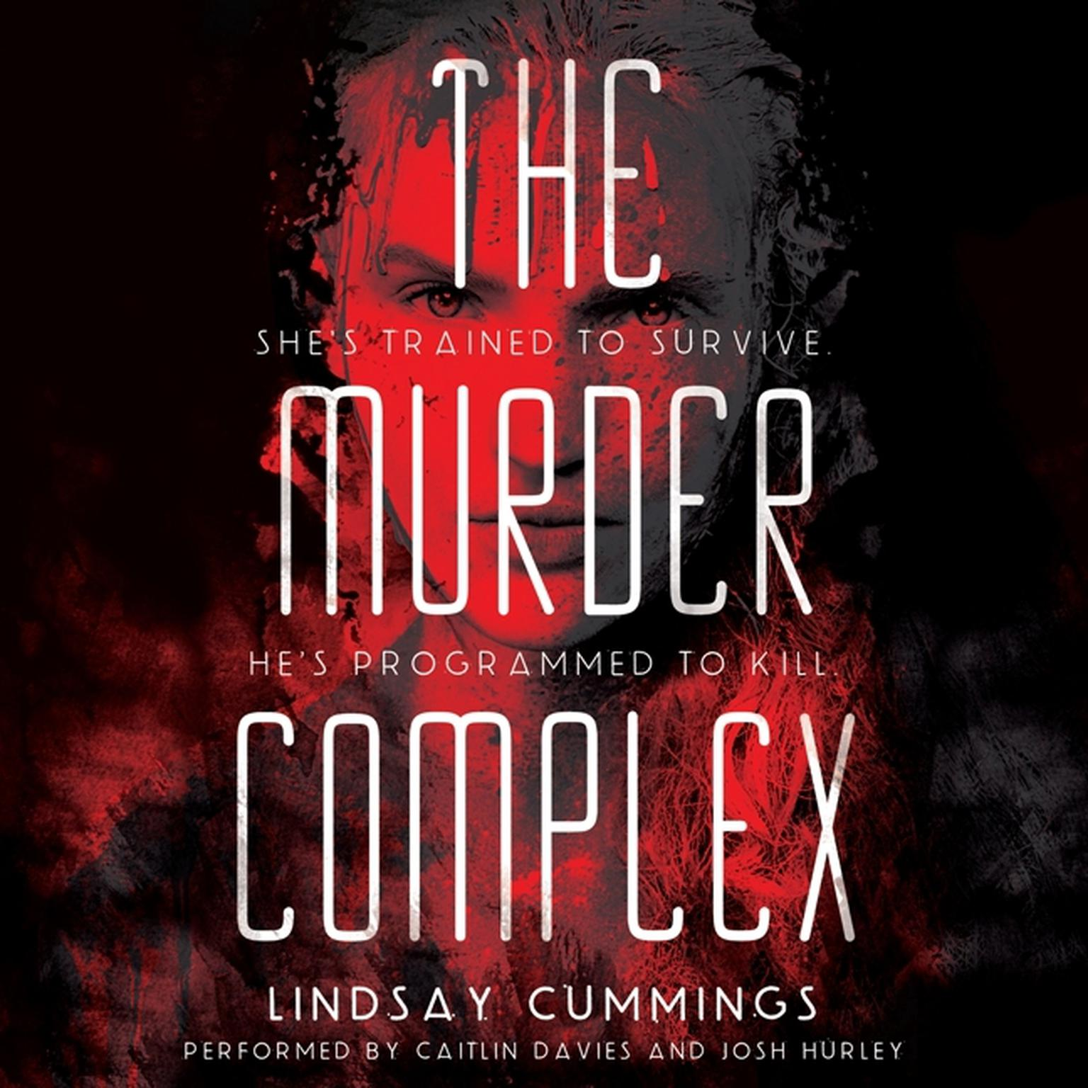 Printable The Murder Complex Audiobook Cover Art