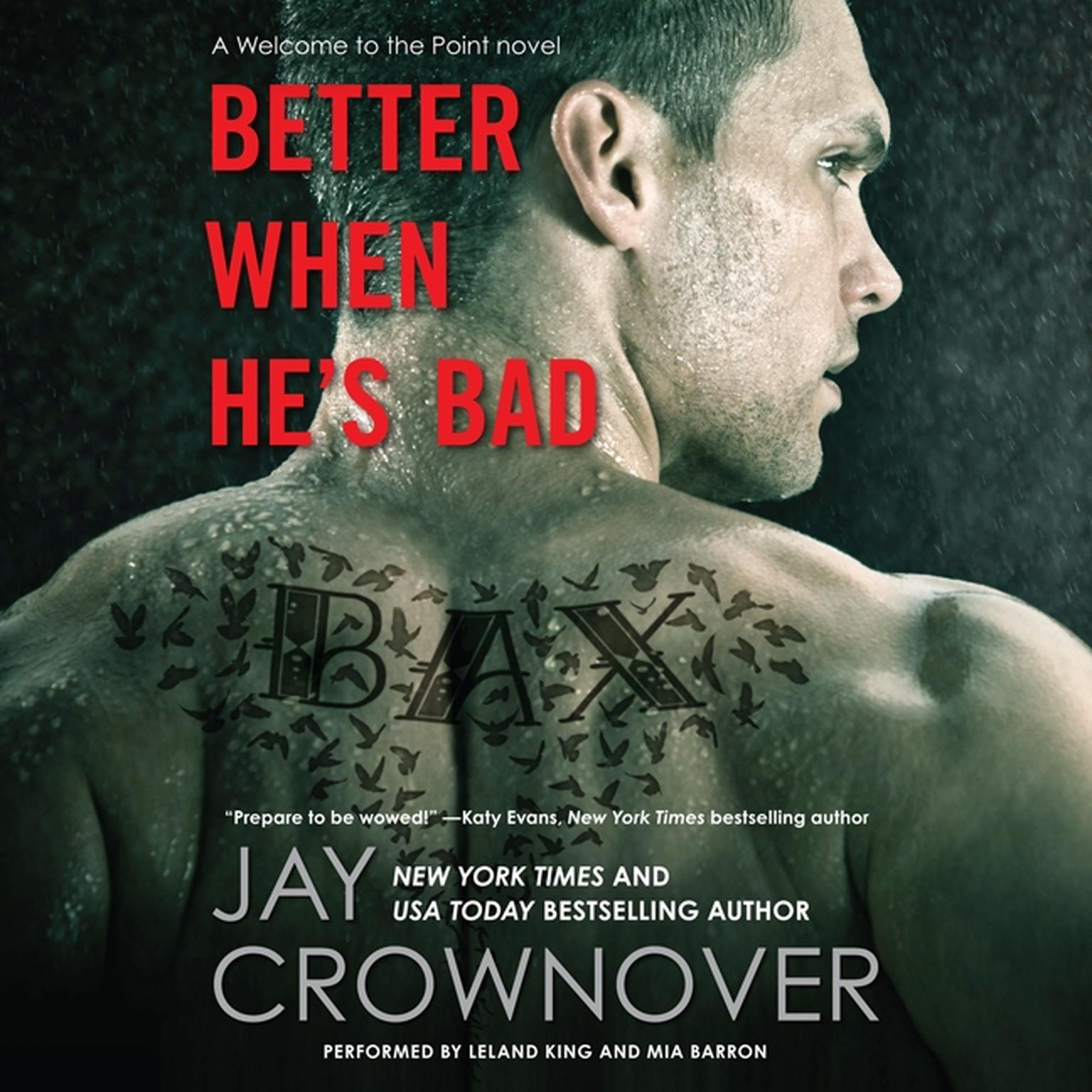 Printable Better When He's Bad Audiobook Cover Art