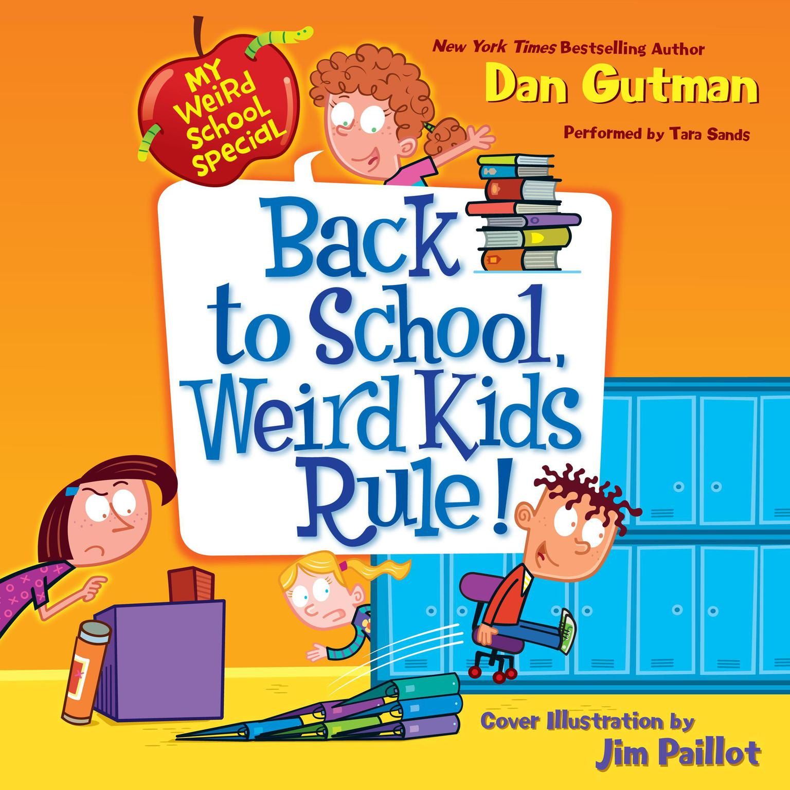 Printable Back to School, Weird Kids Rule! Audiobook Cover Art