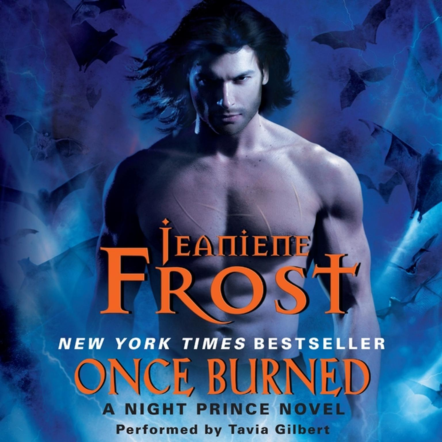 Printable Once Burned: A Night Prince Novel Audiobook Cover Art