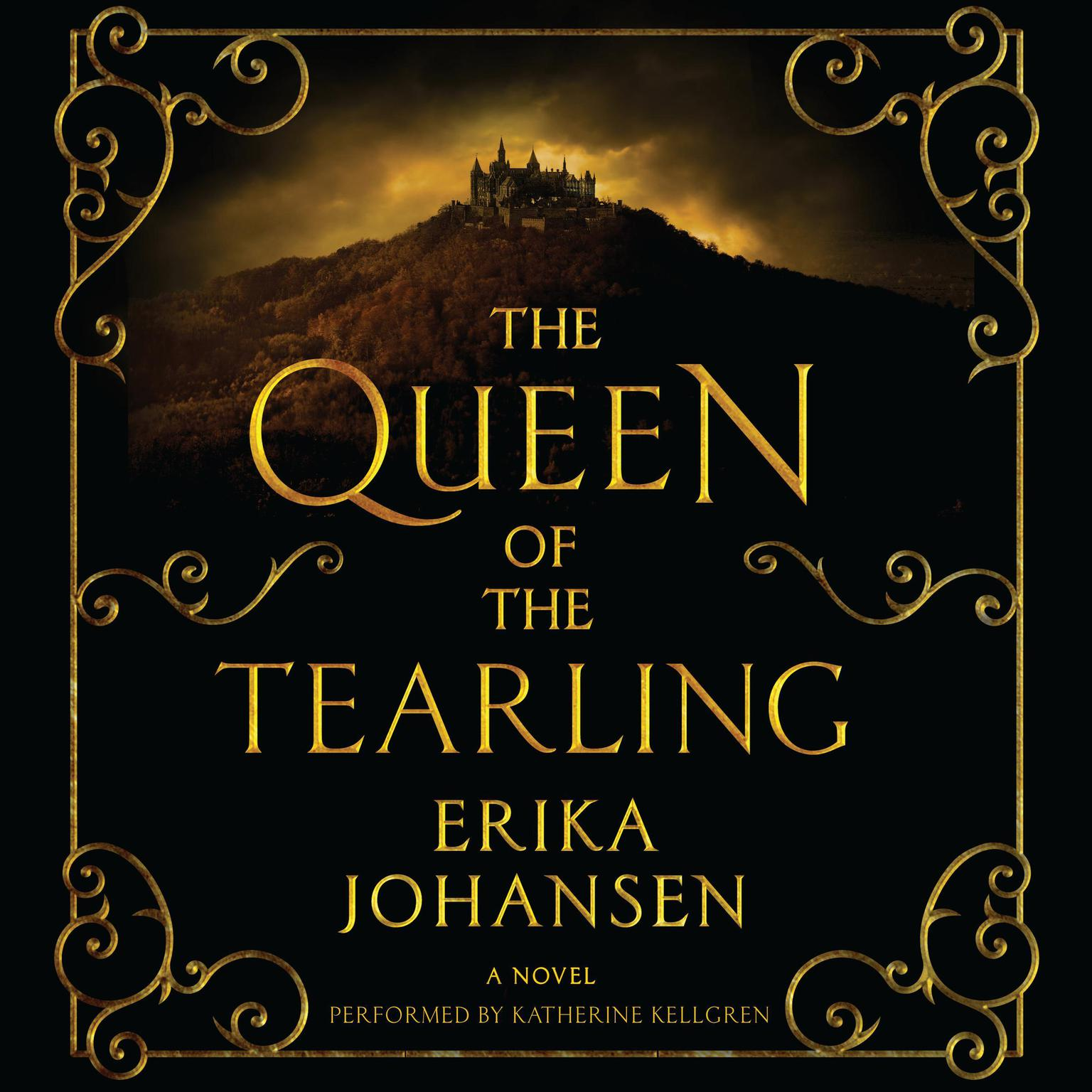 Printable The Queen of the Tearling: A Novel Audiobook Cover Art
