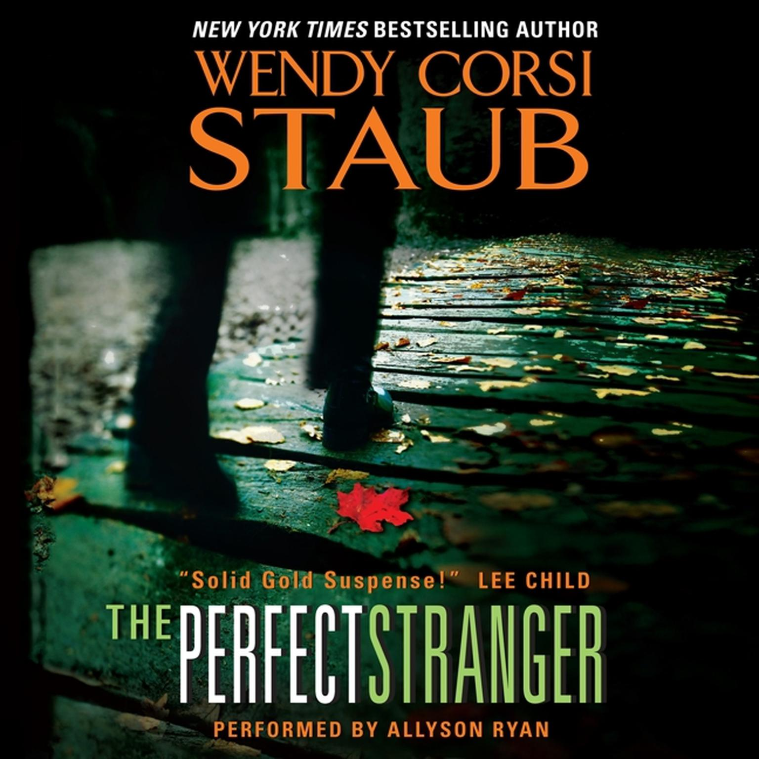 Printable The Perfect Stranger Audiobook Cover Art