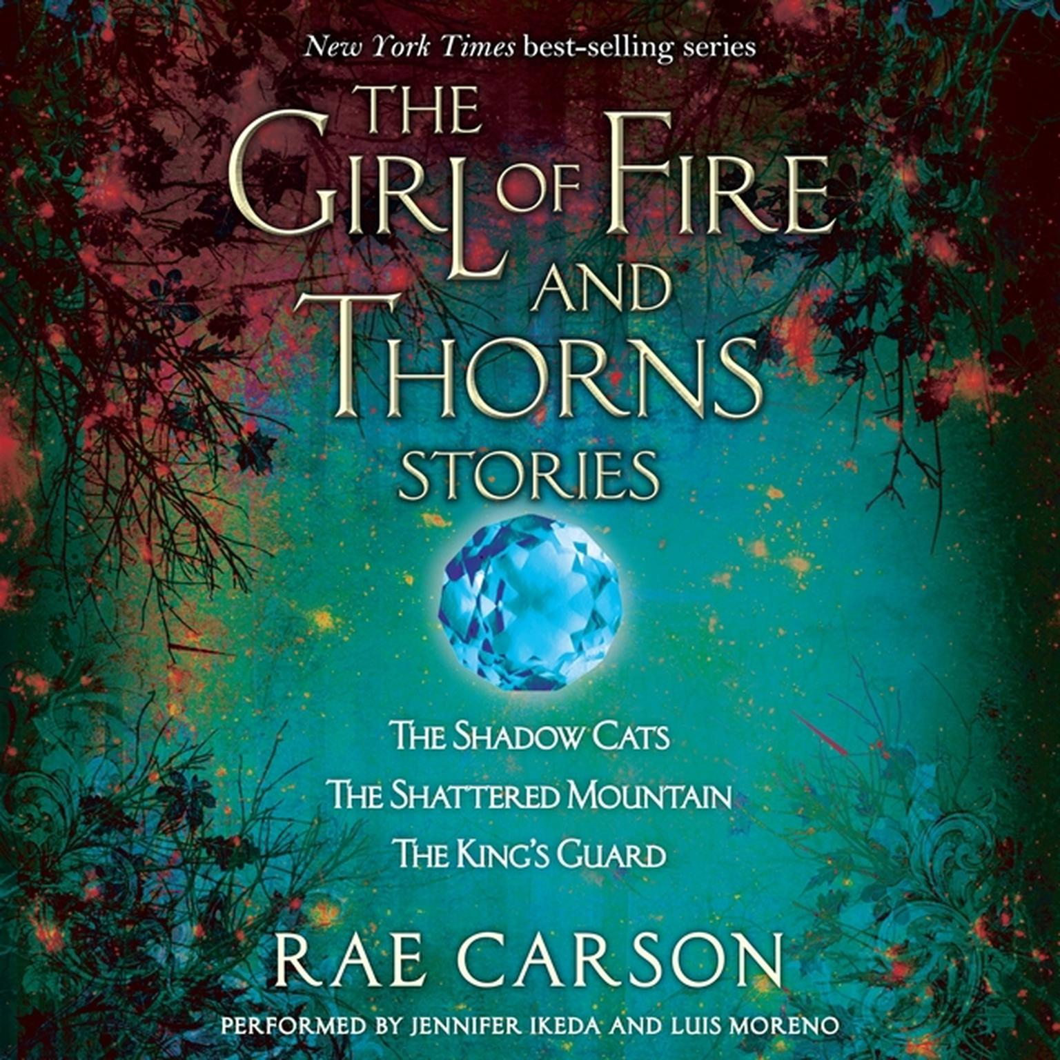 Printable Girl of Fire and Thorns Stories Audiobook Cover Art