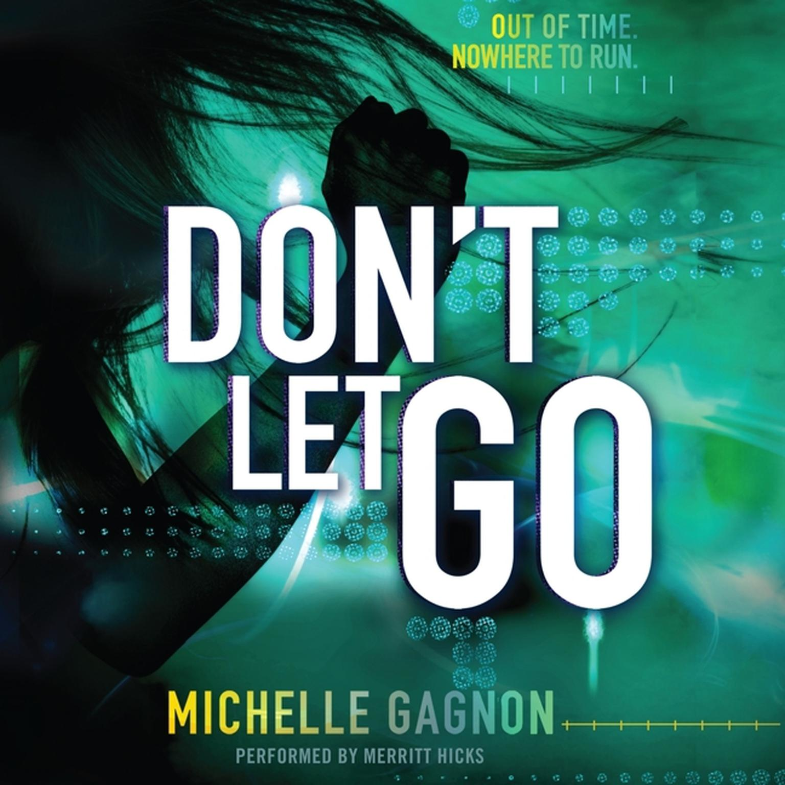 Printable Don't Let Go Audiobook Cover Art