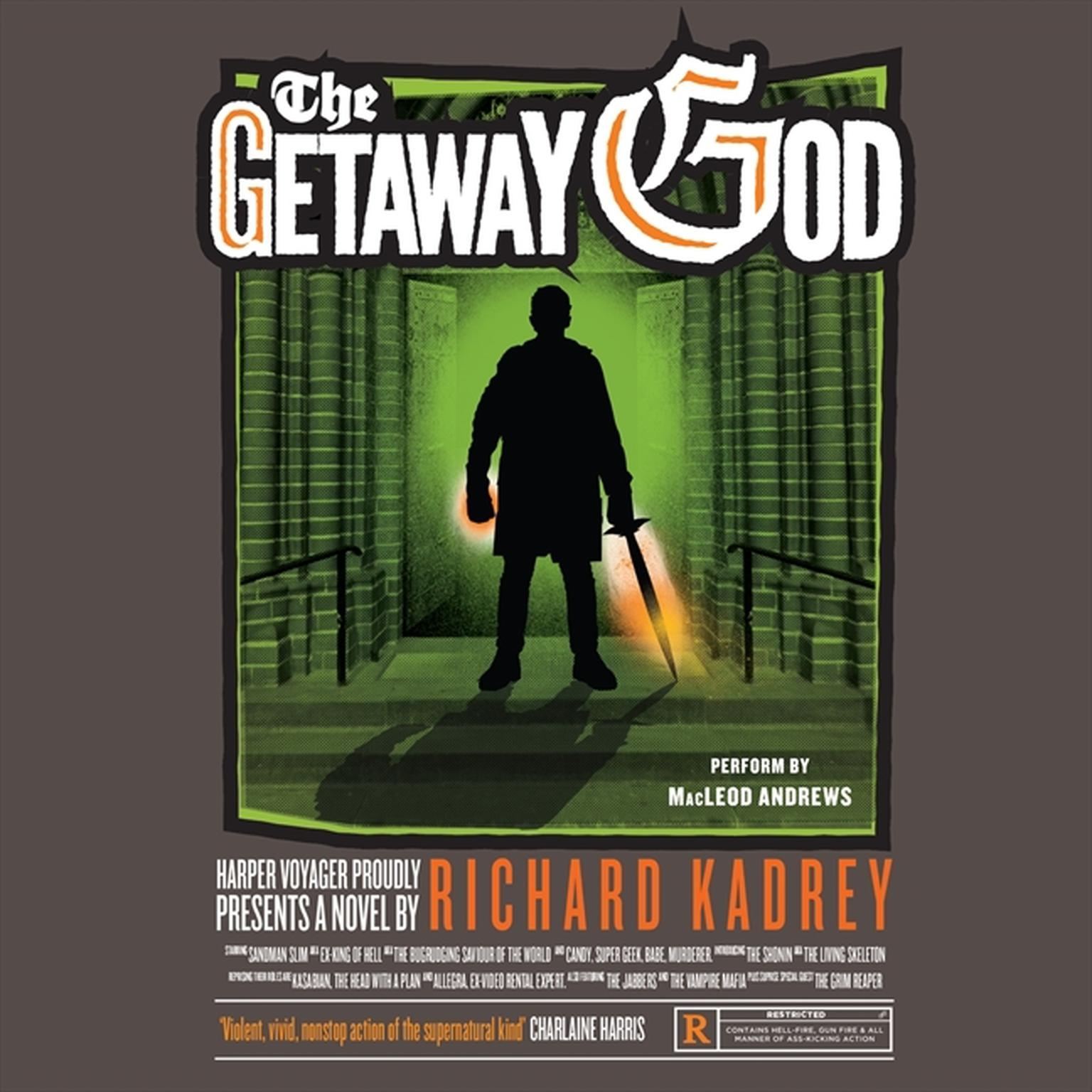Printable The Getaway God: A Sandman Slim Novel Audiobook Cover Art