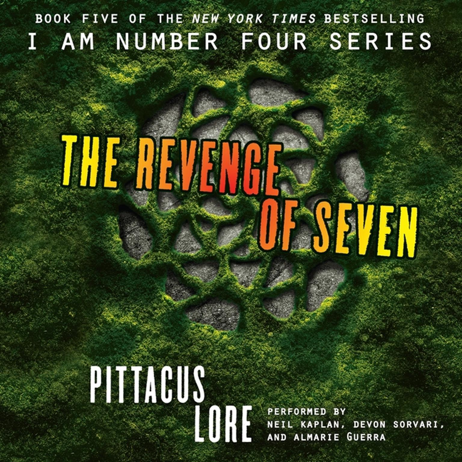 Printable The Revenge of Seven Audiobook Cover Art