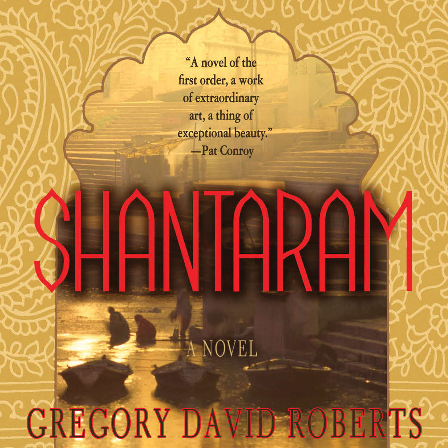 Printable Shantaram: A Novel Audiobook Cover Art