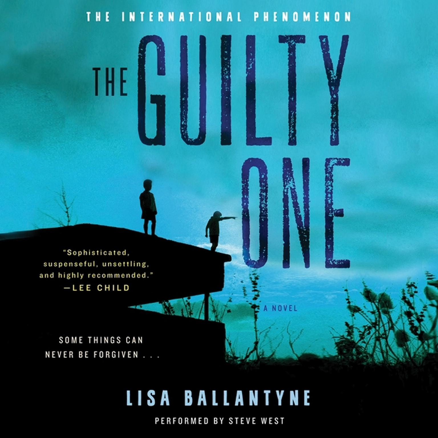 Printable The Guilty One: A Novel Audiobook Cover Art