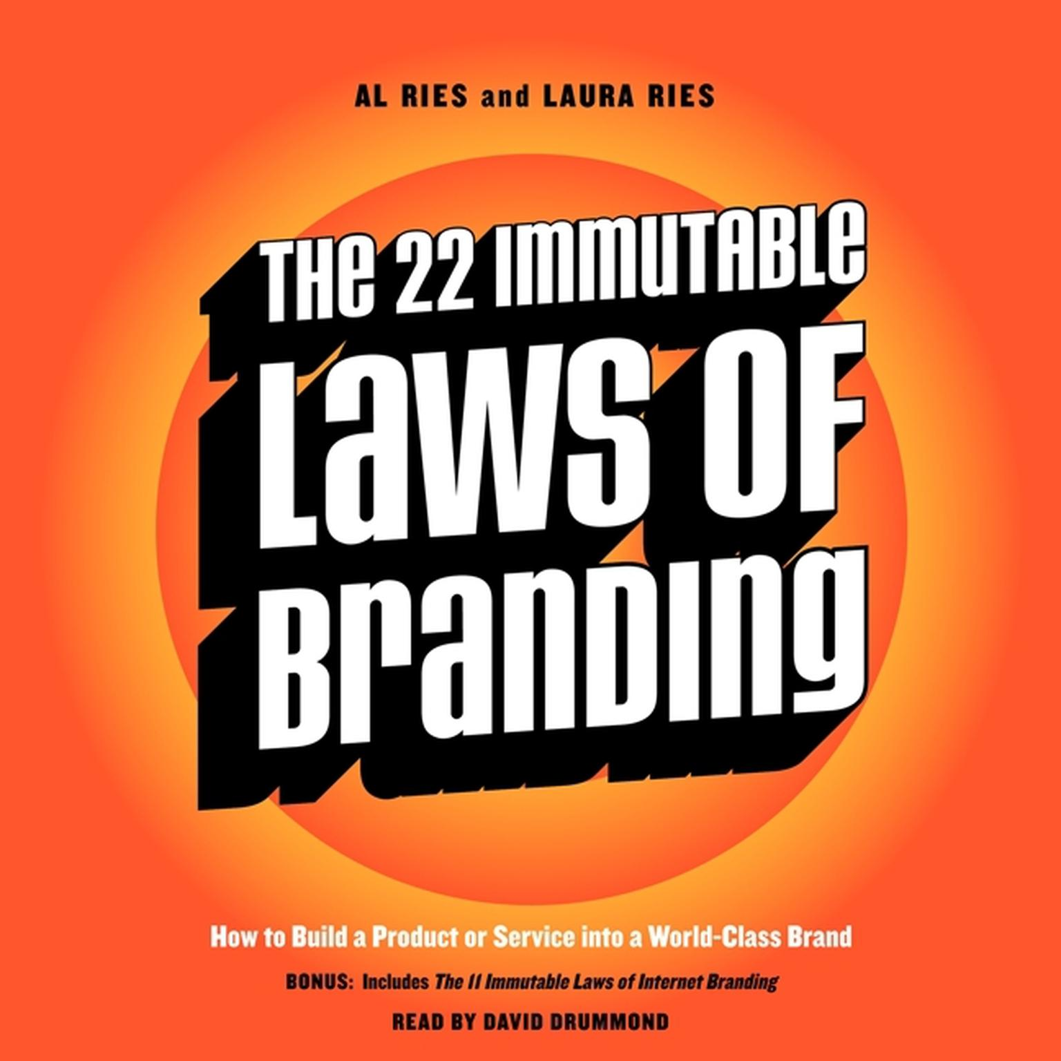 Printable The 22 Immutable Laws of Branding: How to Build a Product or Service into a World-Class Brand Audiobook Cover Art