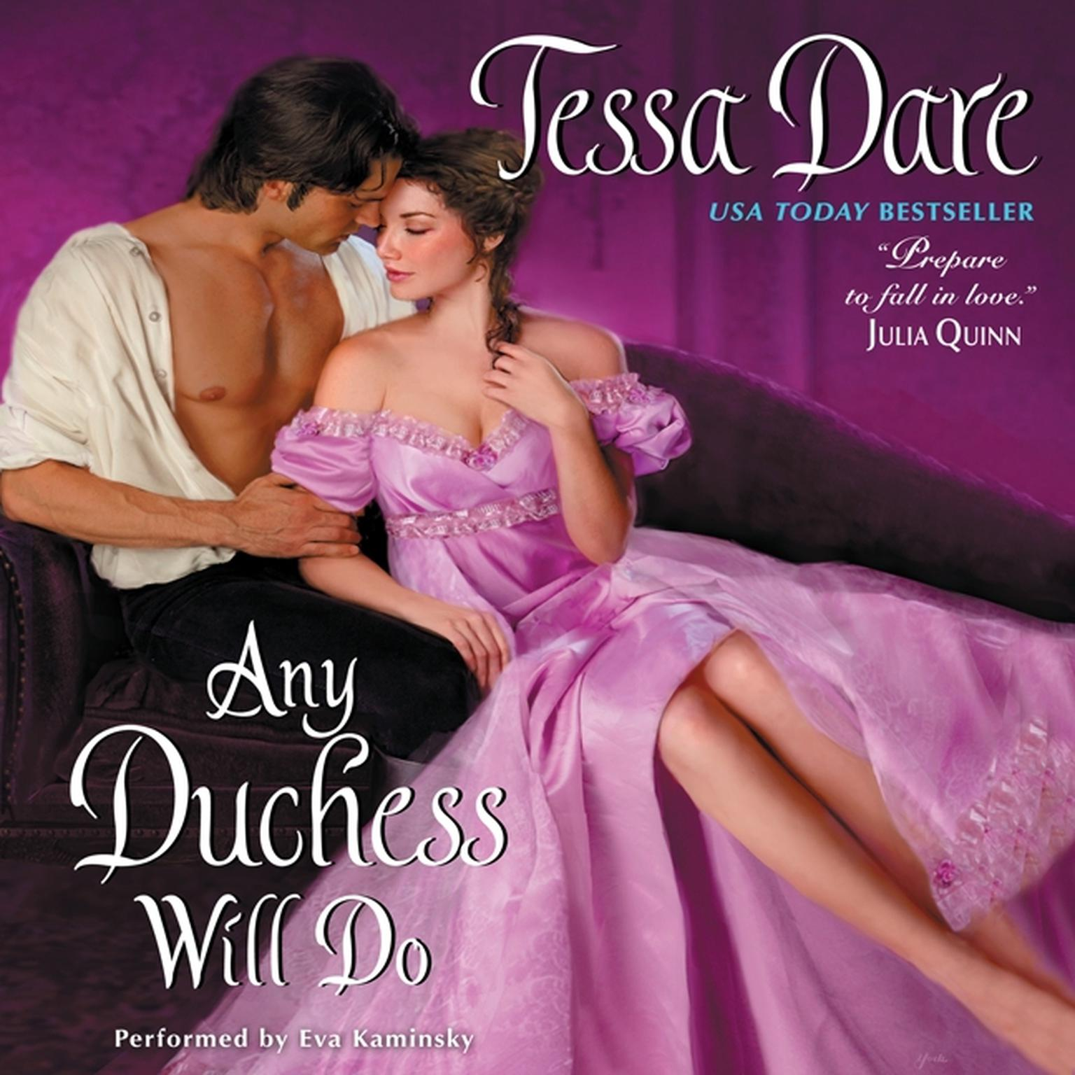 Printable Any Duchess Will Do Audiobook Cover Art