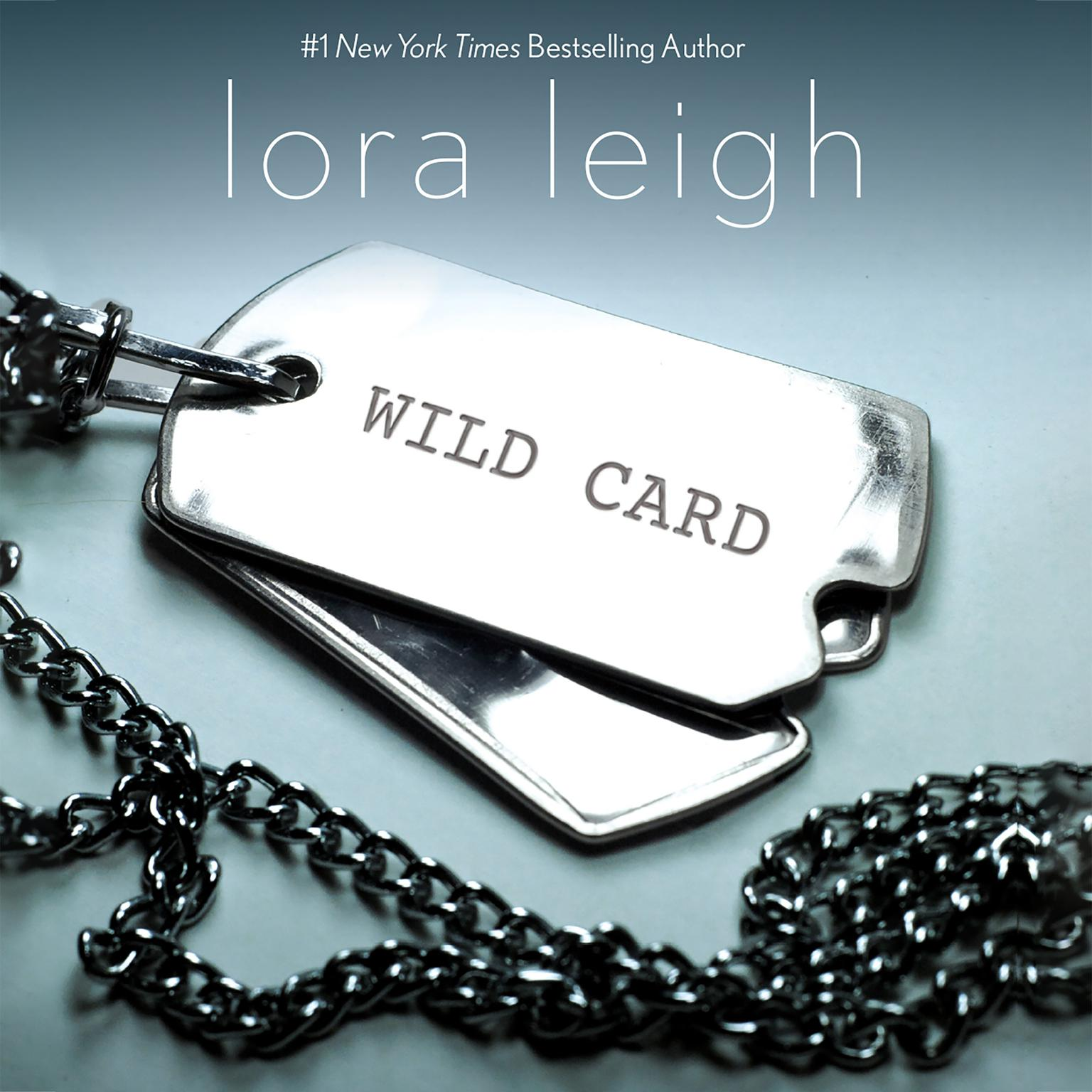 Printable Wild Card Audiobook Cover Art