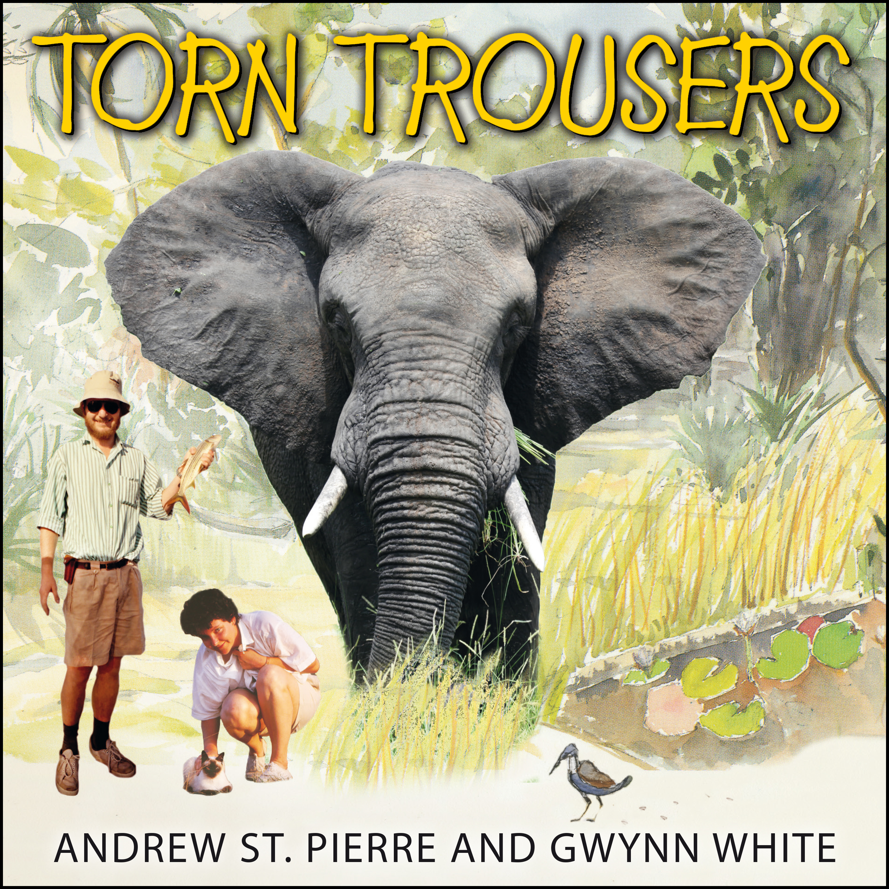 Printable Torn Trousers: A True Story of Courage and Adventure: How A Couple Sacrificed Everything To Escape to Paradise Audiobook Cover Art