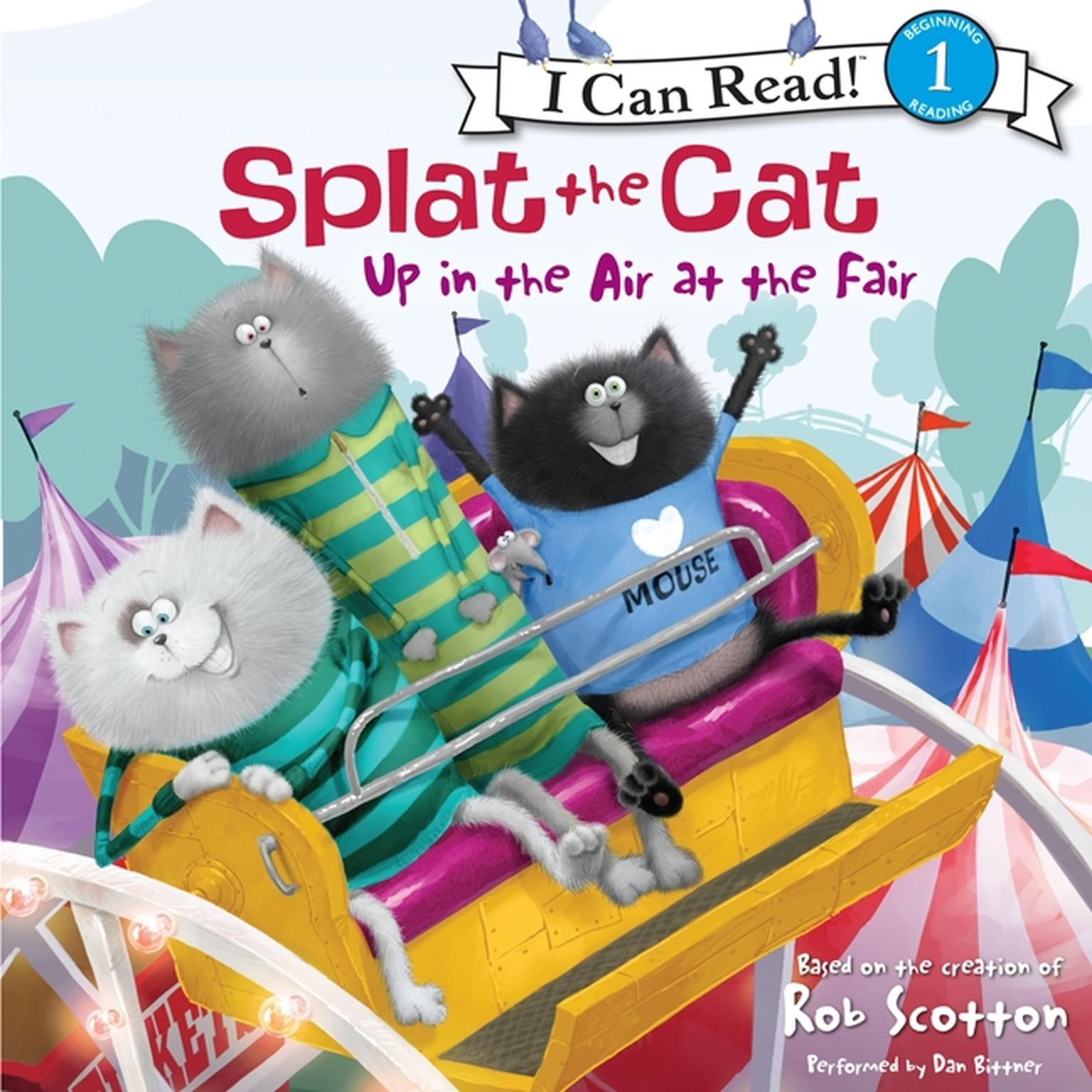 Printable Splat the Cat: Up in the Air at the Fair Audiobook Cover Art