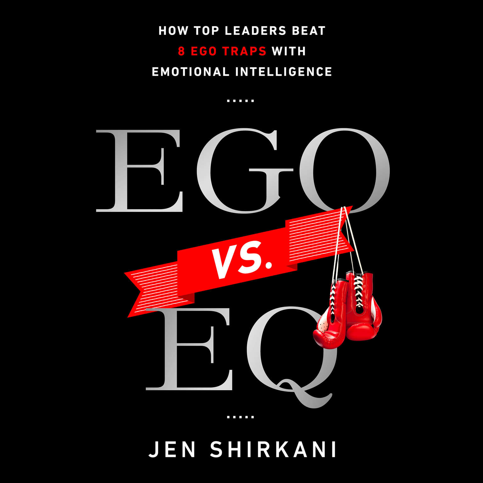 Printable Ego vs. EQ: How Top Business Leaders Beat 8 Ego Traps with Emotional Intelligence Audiobook Cover Art