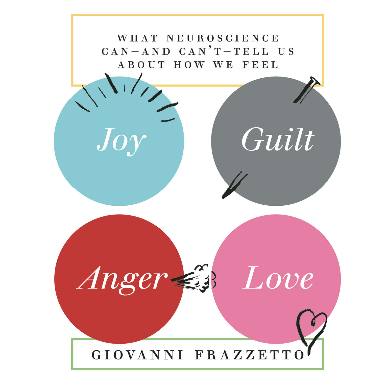 Printable Joy, Guilt, Anger, Love: What Neuroscience Can—and Can't—Tell Us about How We Feel Audiobook Cover Art